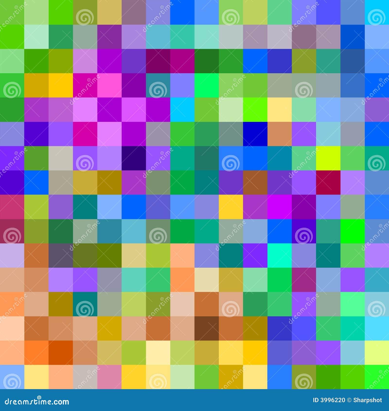 73b0825e1a Pixeles grandes coloridos. stock de ilustración. Ilustración de ...