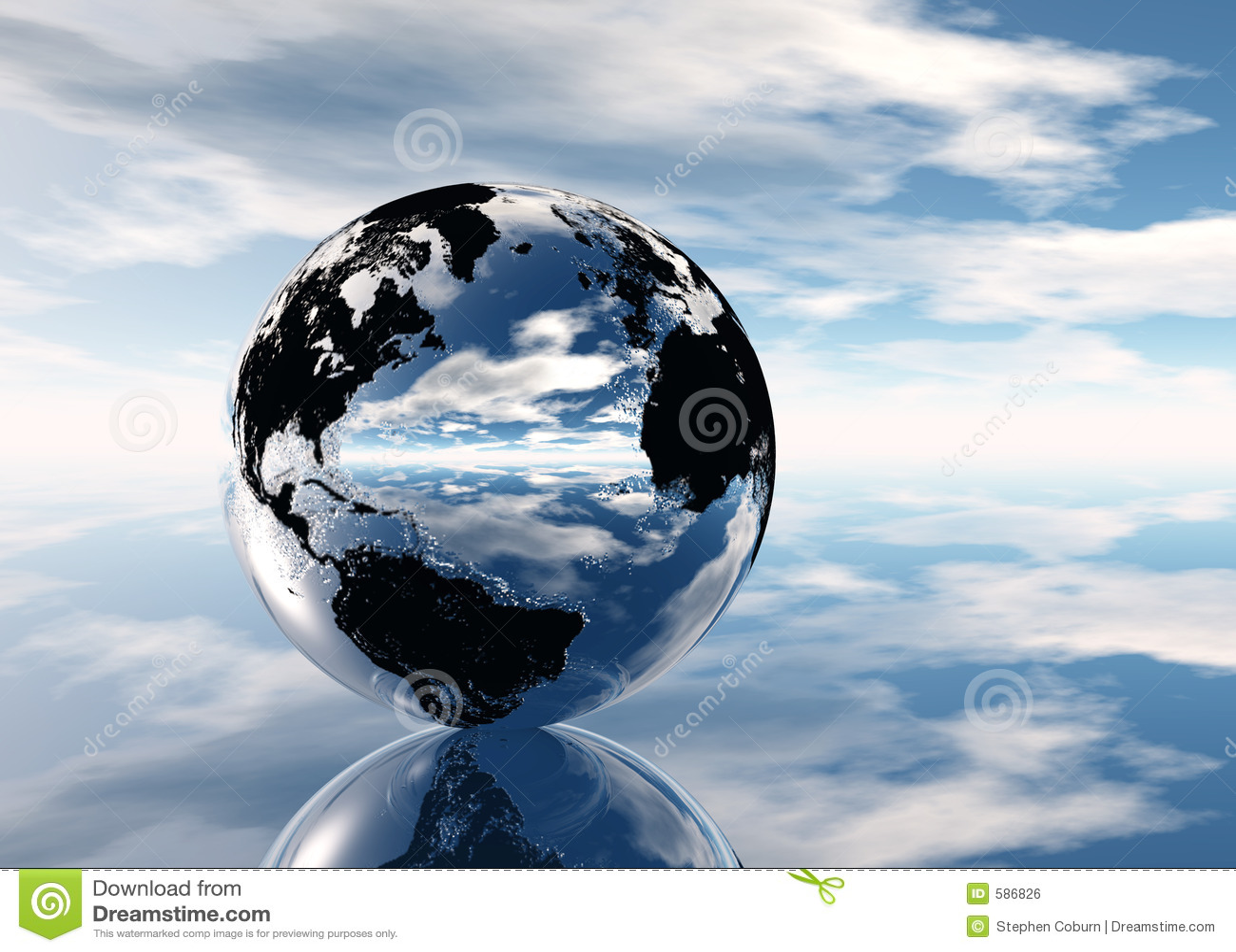Pixelized Earth