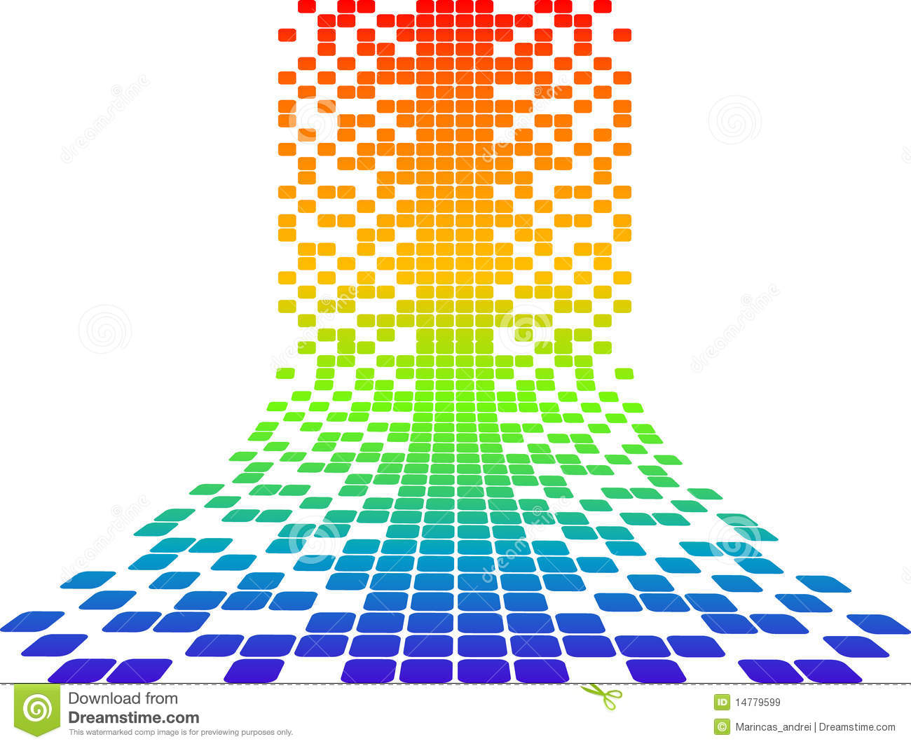 pixels design stock vector  image of technology  pattern