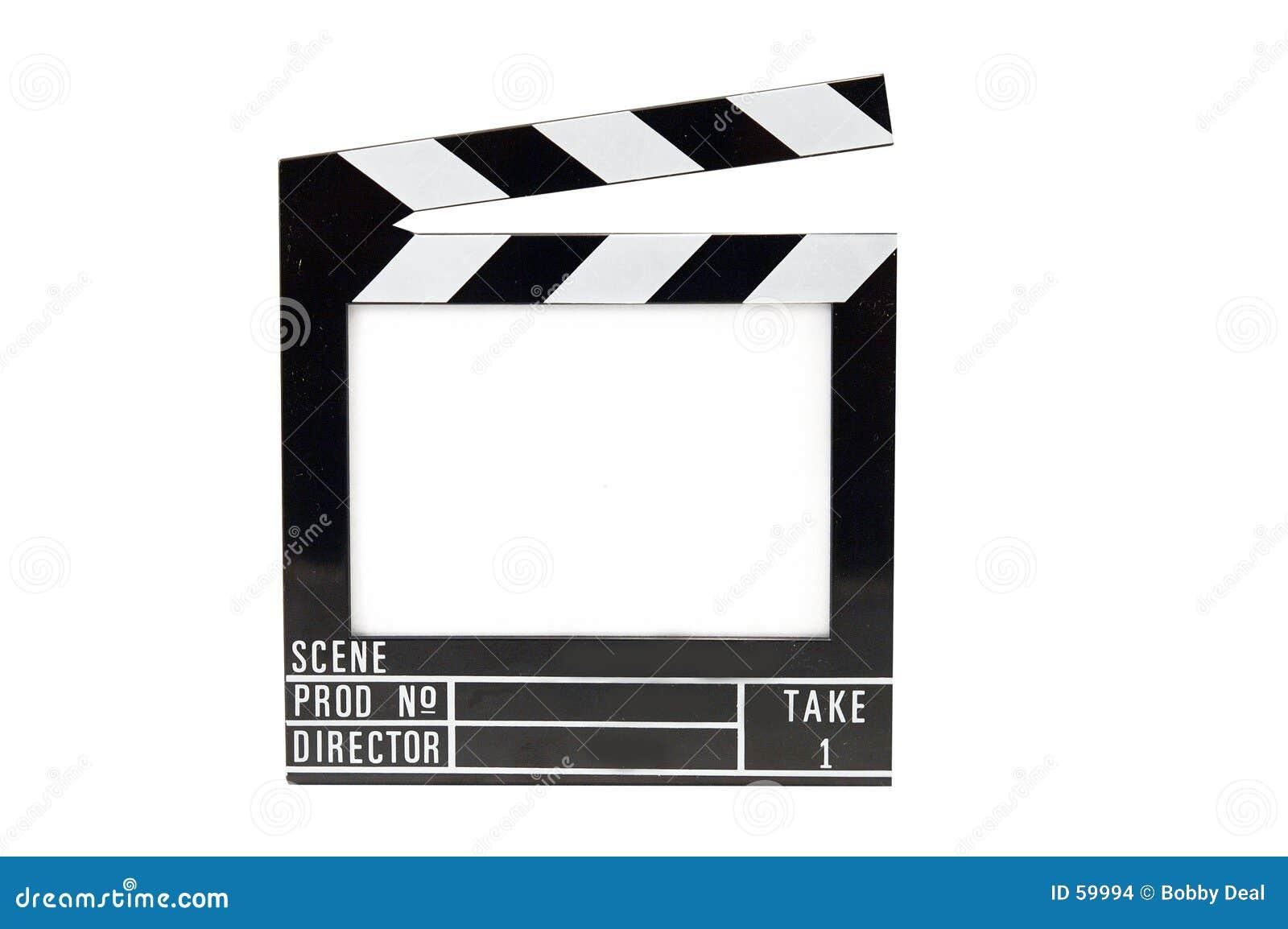 Pizarra de la película
