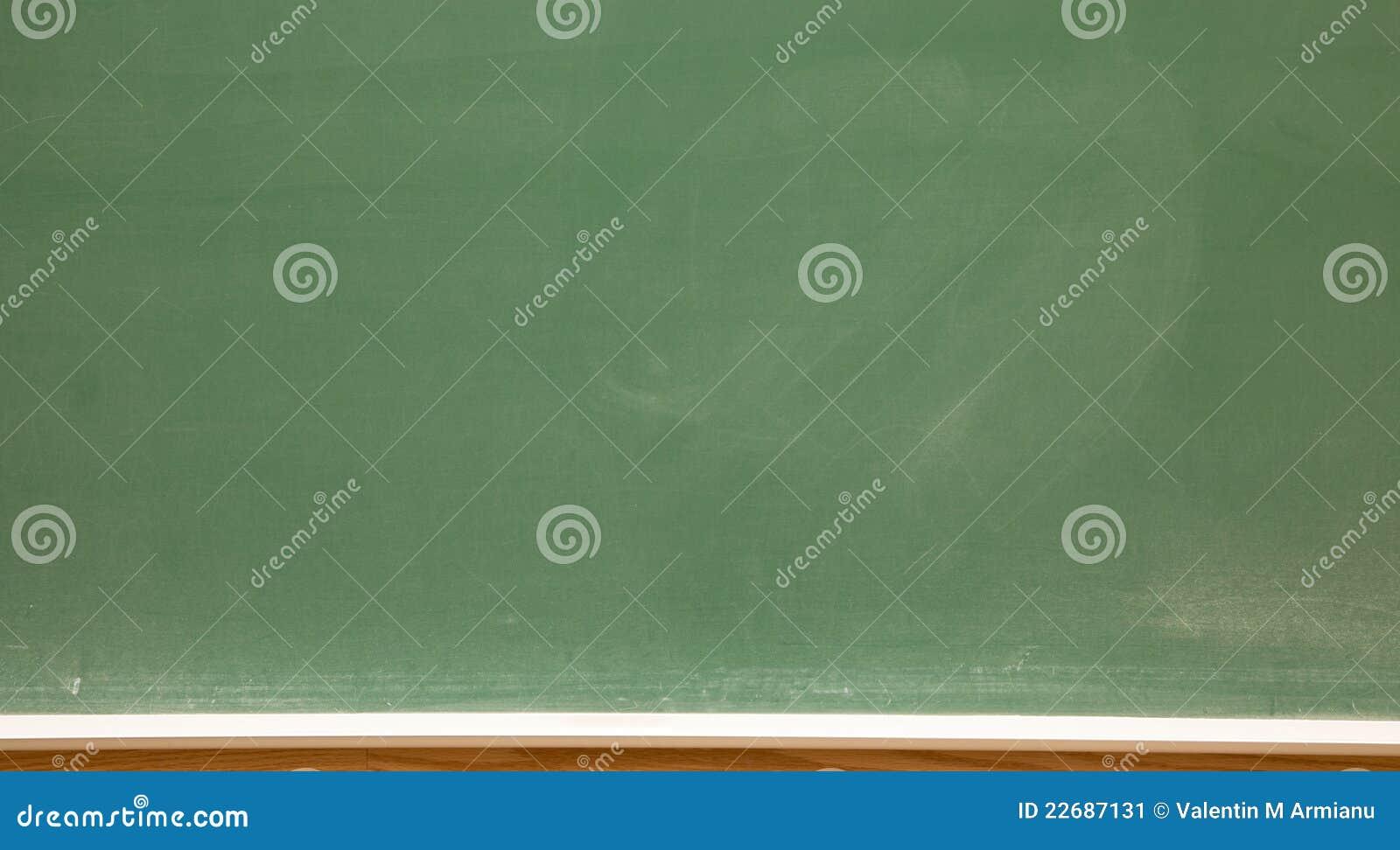 Pizarra de la sala de clase