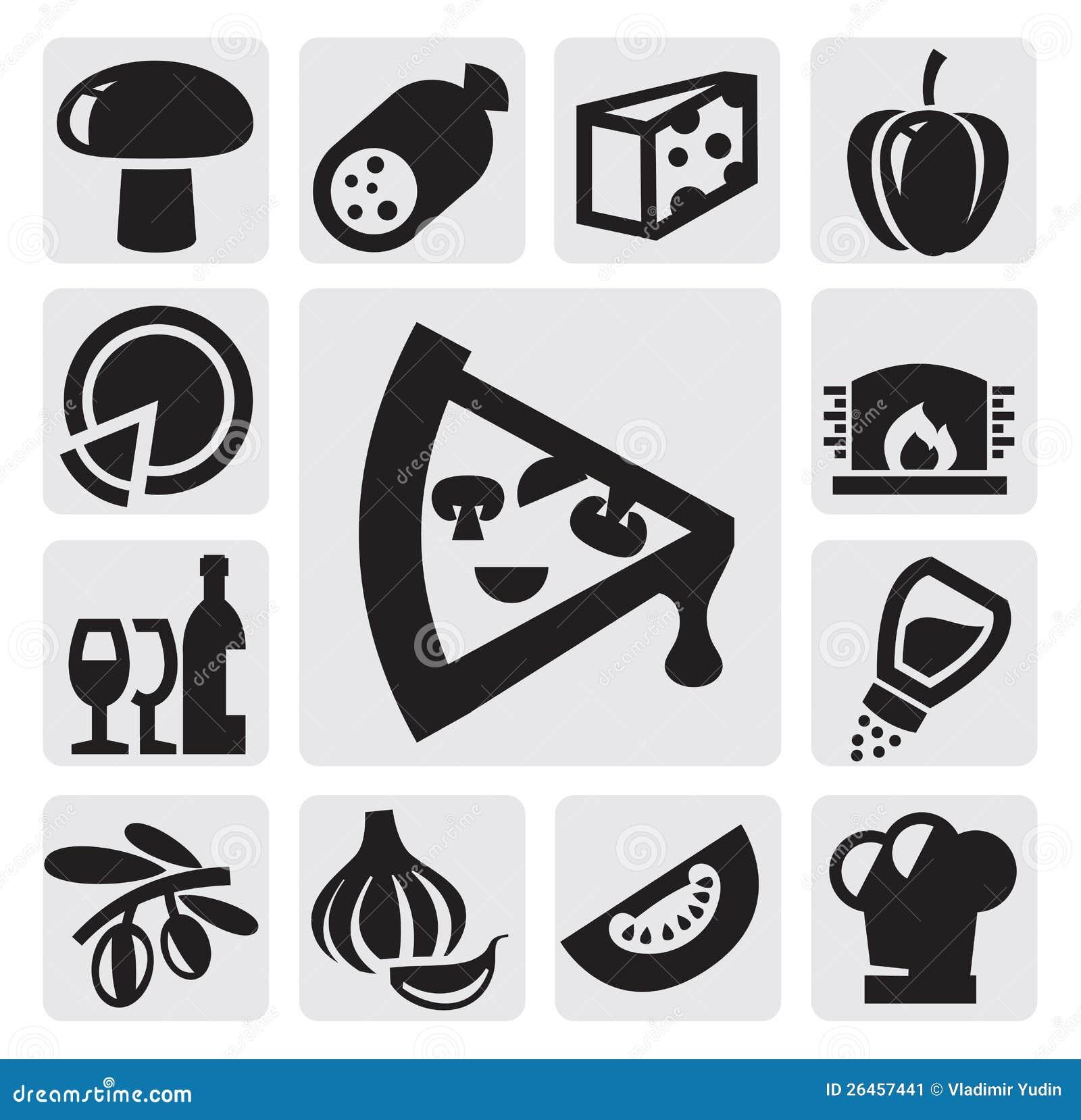Pizz ikony