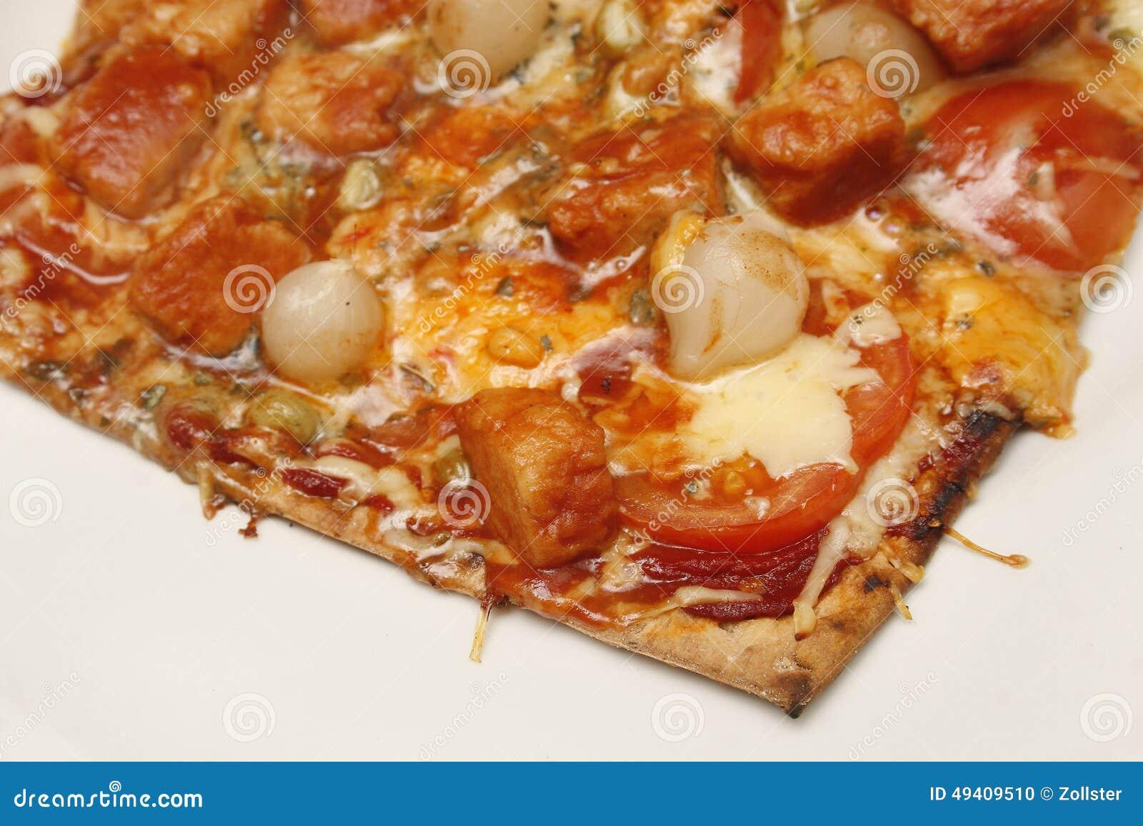 Download Pizza stockfoto. Bild von pizza, selbstgemacht, frisch - 49409510