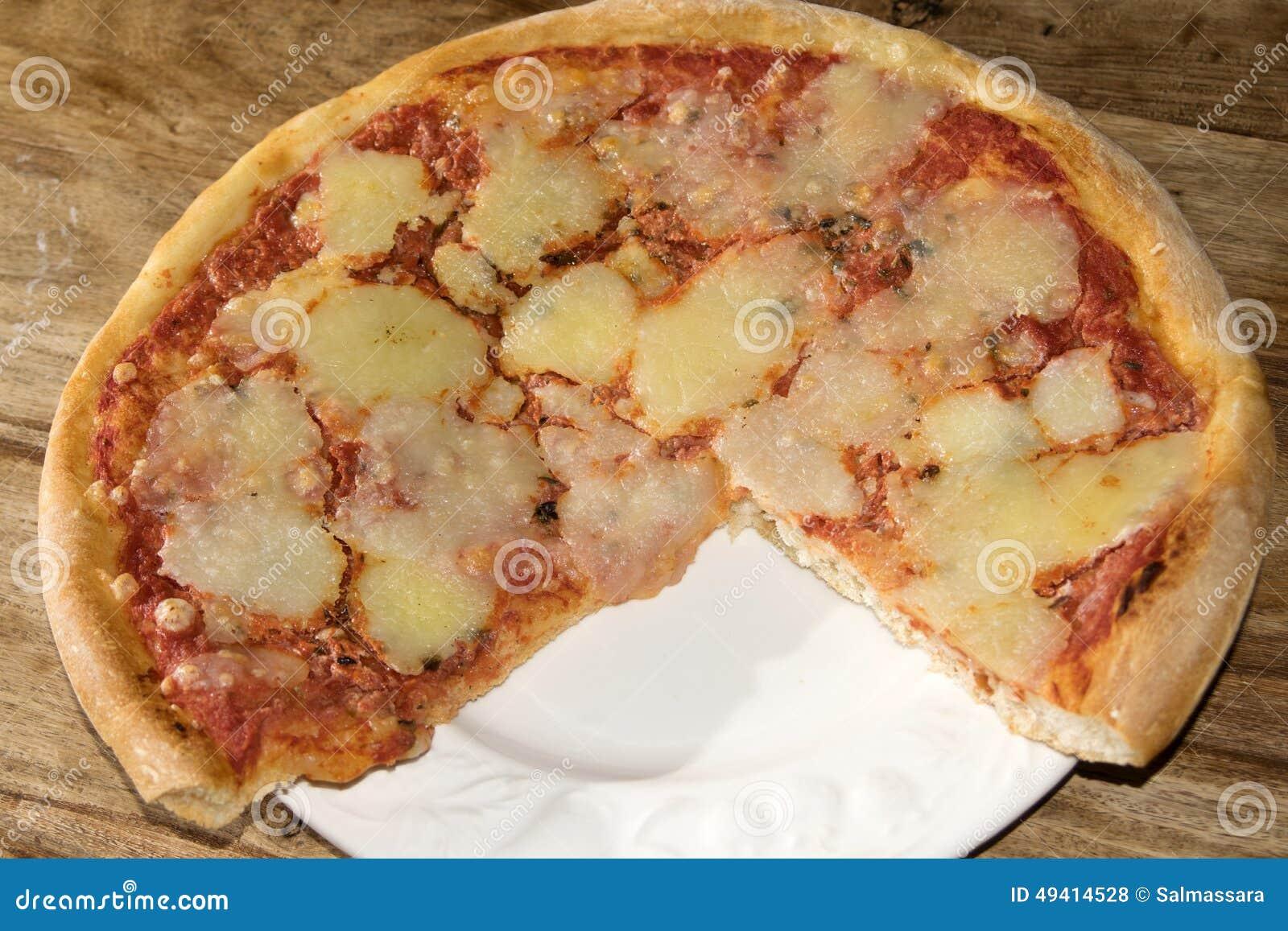 Download Pizza stockfoto. Bild von hefe, notwendig, teig, treibmittel - 49414528