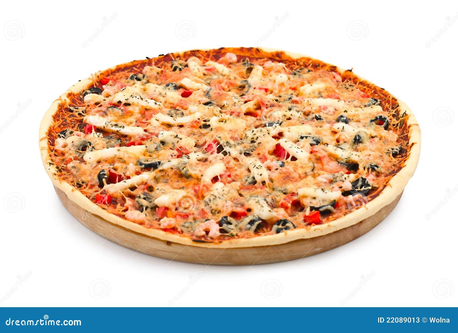 pizza avec des fruits de mer image stock image 22089013. Black Bedroom Furniture Sets. Home Design Ideas