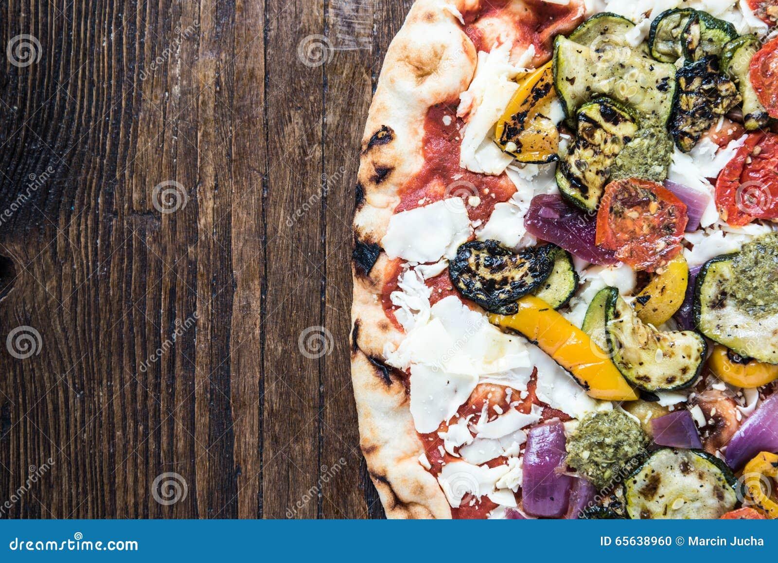 Pizza avec des légumes