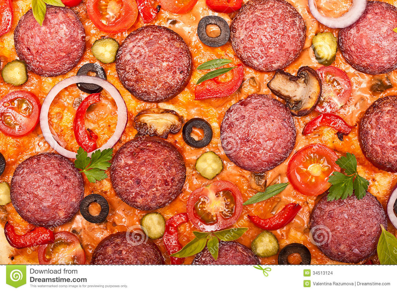 Pizza background. See my other works in portfolio.