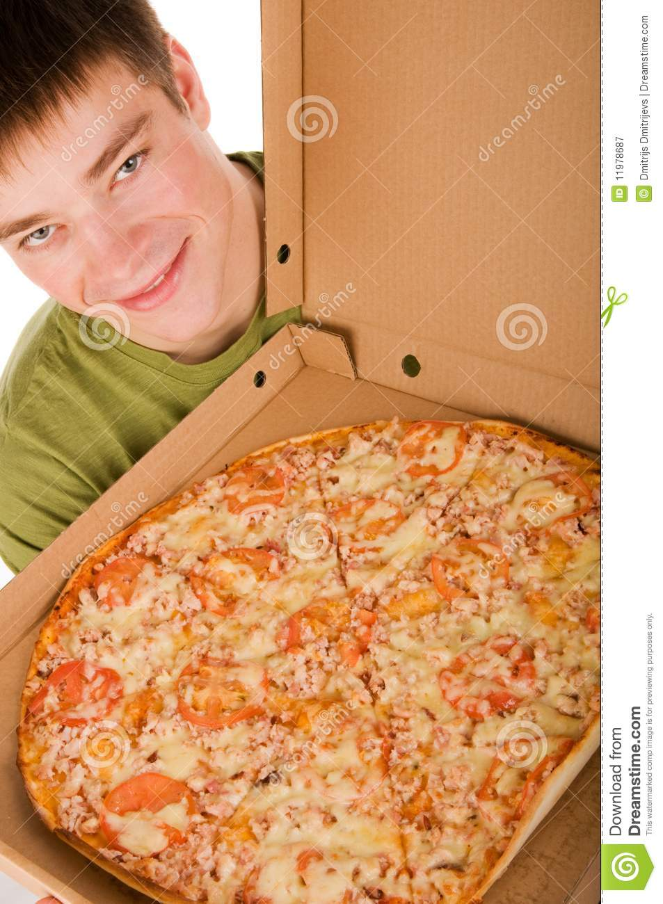 The Pizza Boy He Delivers