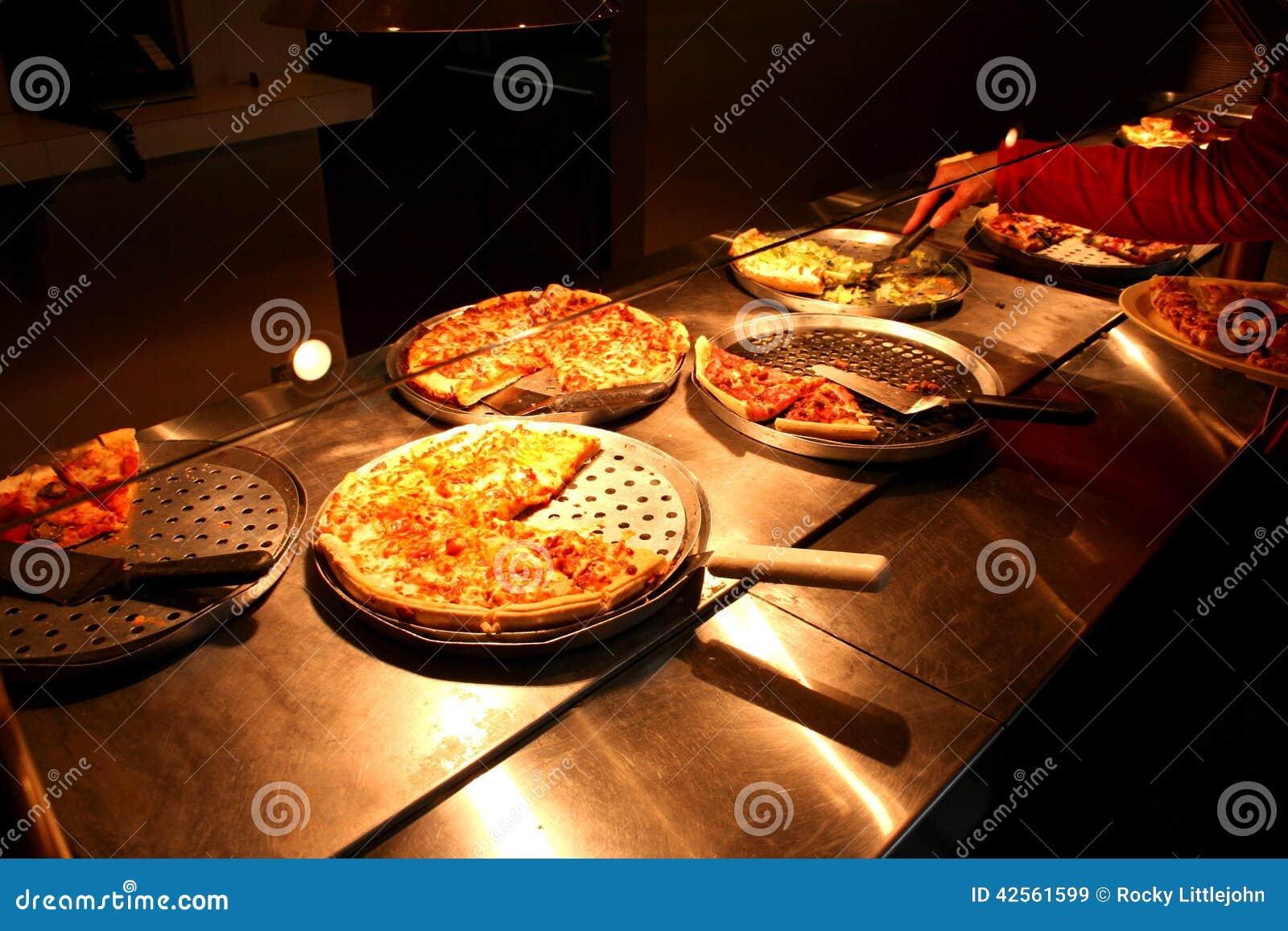 Pizza Buffet 3 Stock Photo Image 42561599