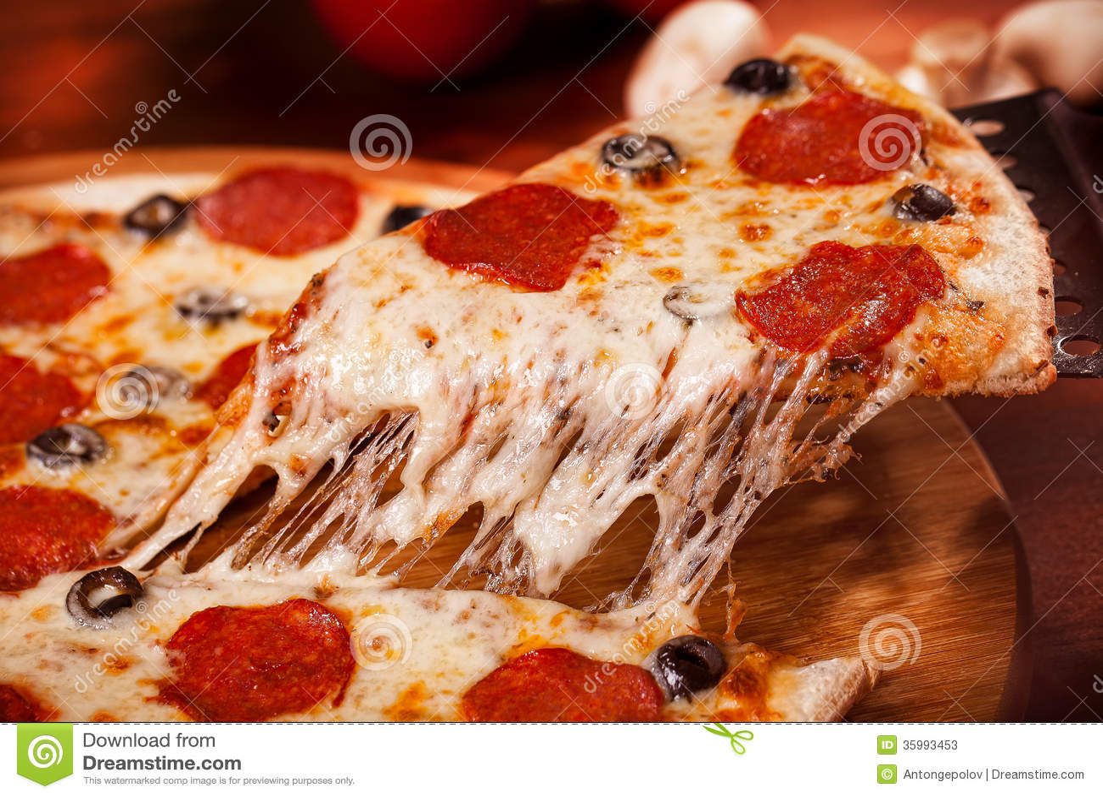 Pizza calda