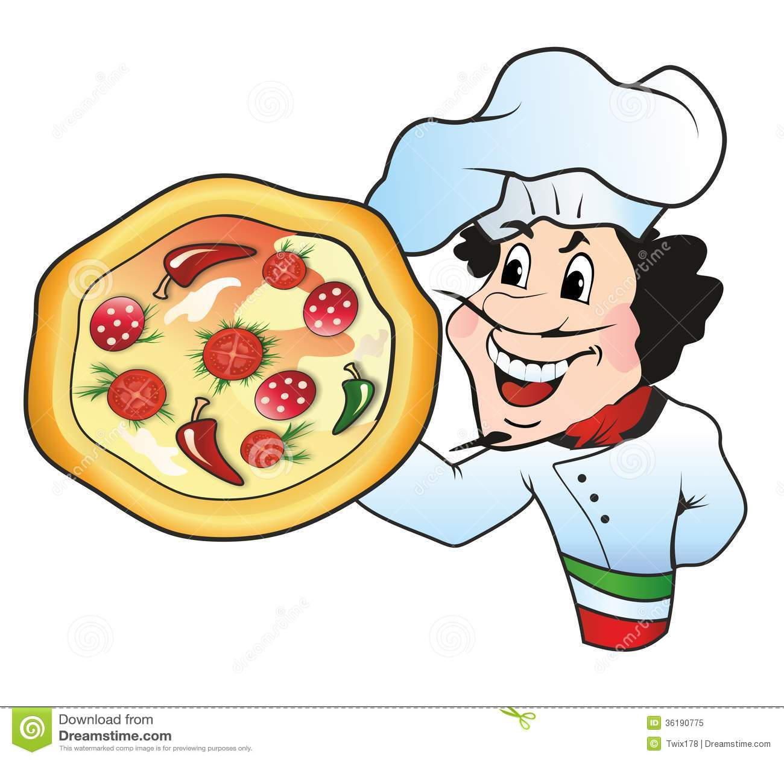 Italian Chef Logo