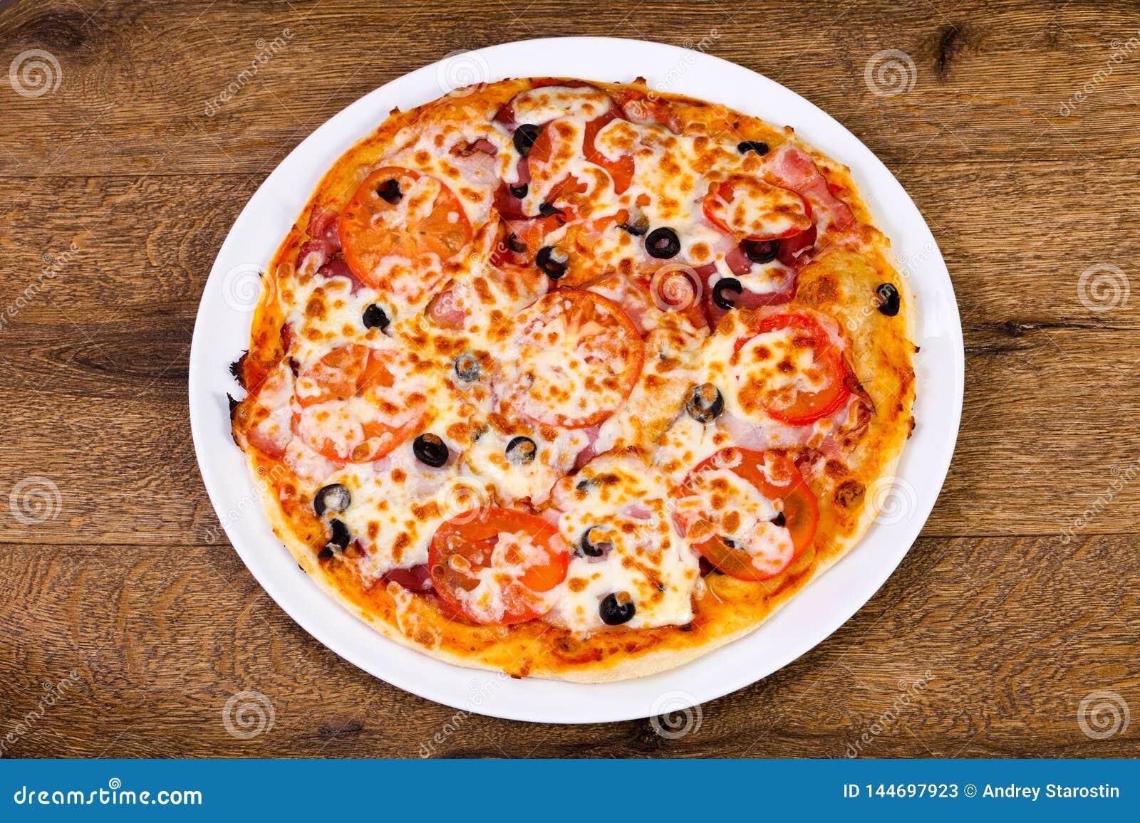 Pizza com bacon