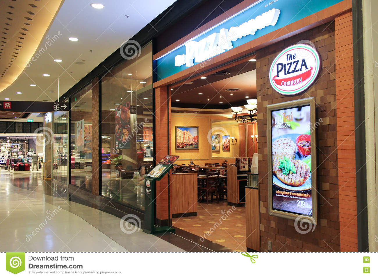 The Pizza Company Restaurant  Editorial Photo - Image of