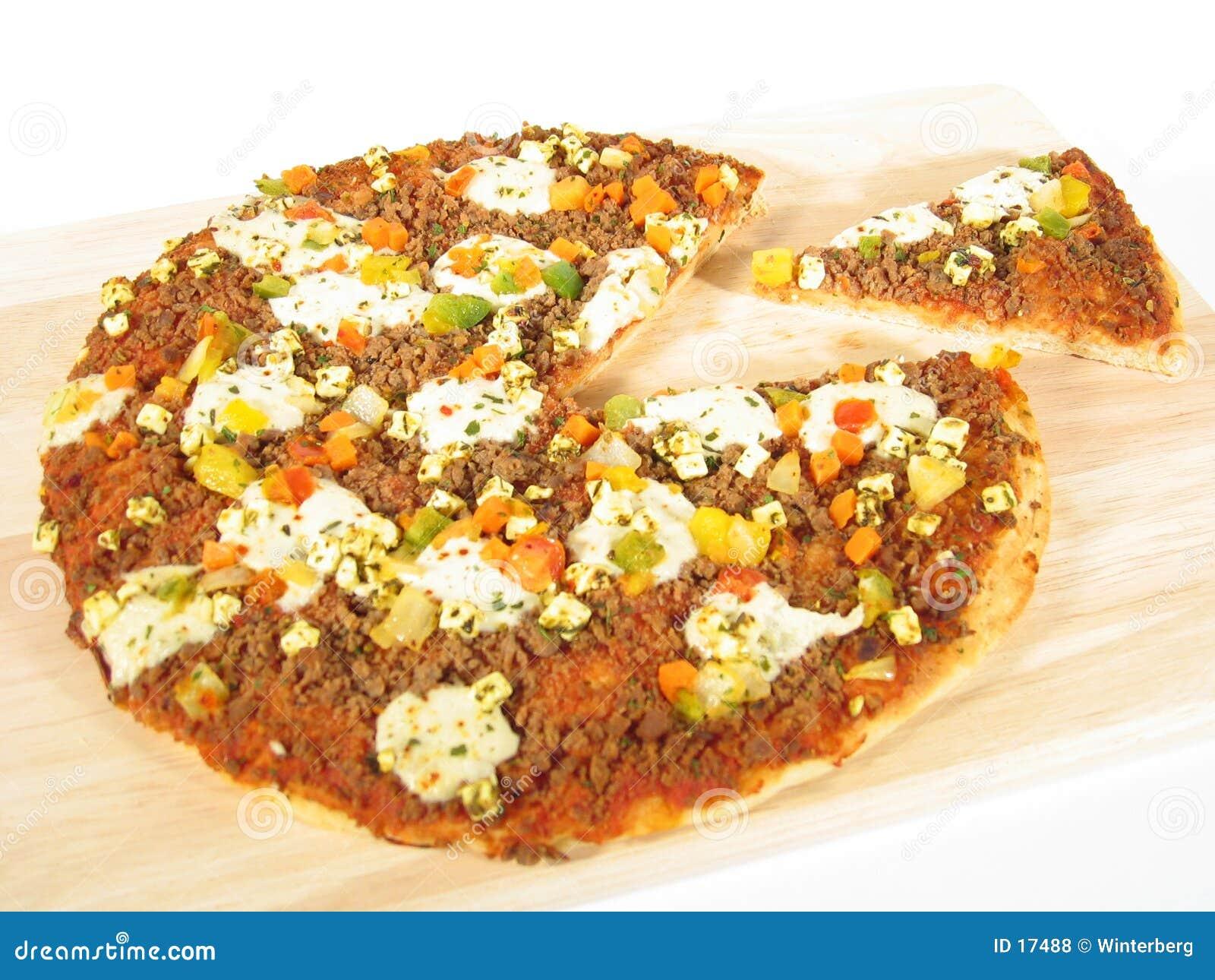 Pizza con la parte