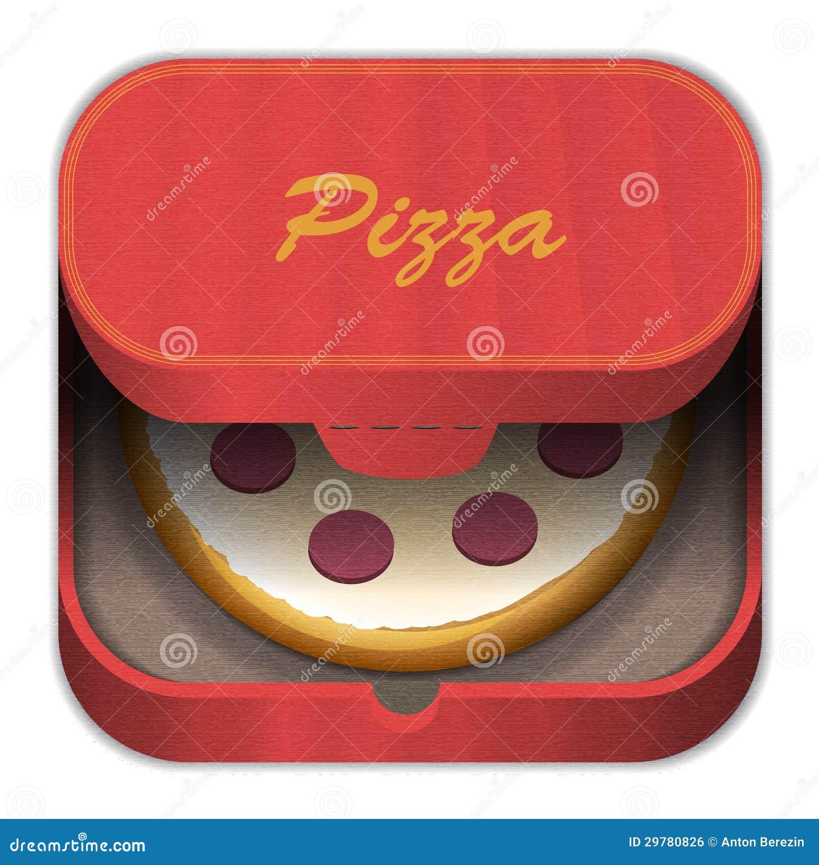 Pizza do ícone