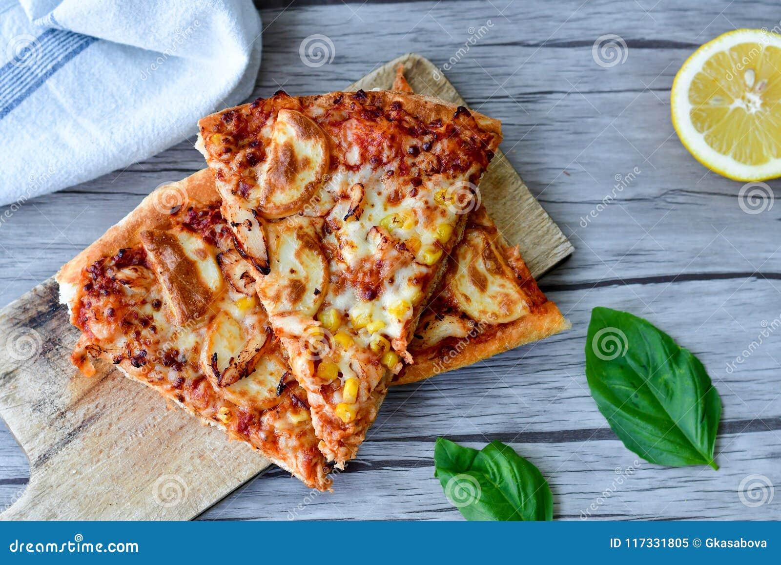 Pizza de poulet