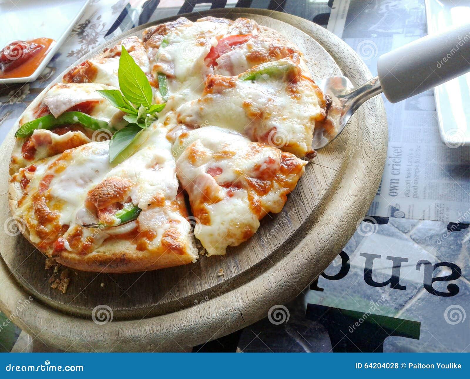 Pizza de queso del jamón