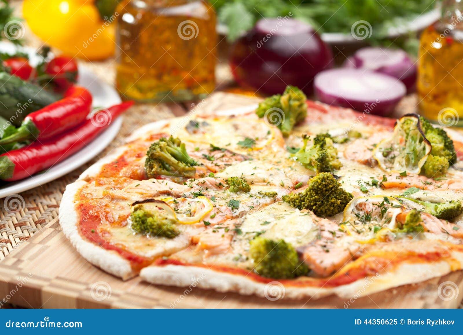 Pizza dei broccoli
