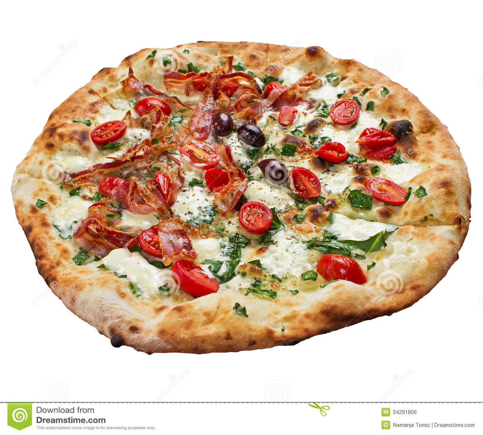 Pizza del bacon