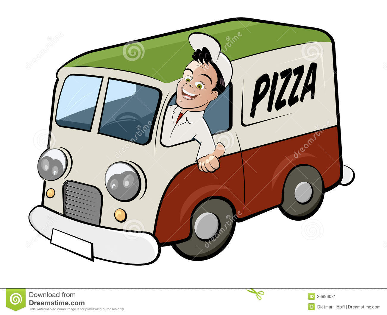 delivery driver clip art - photo #17