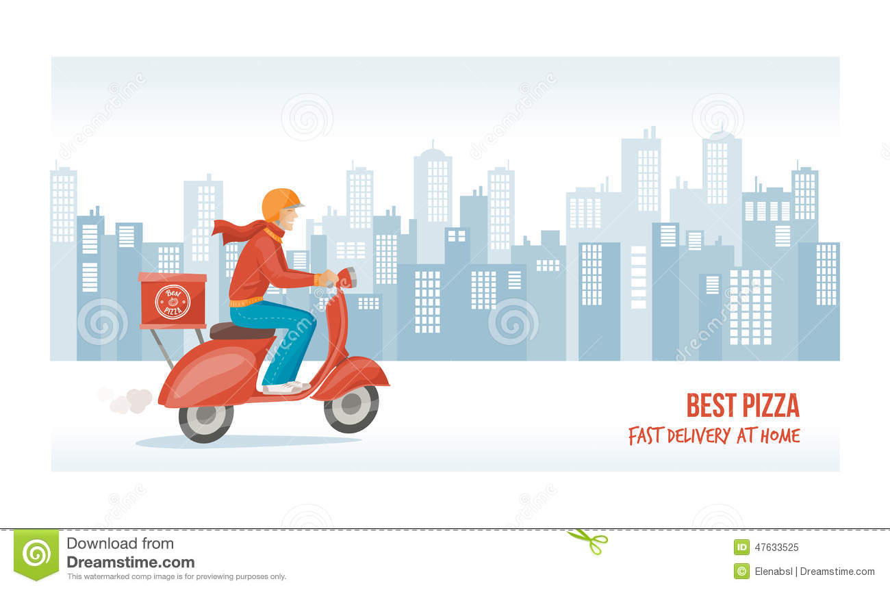Flat vector cargo delivery service background | Premium Vector | 862x1300