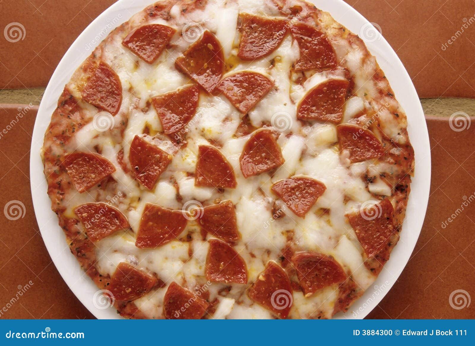 Pizza di merguez calda
