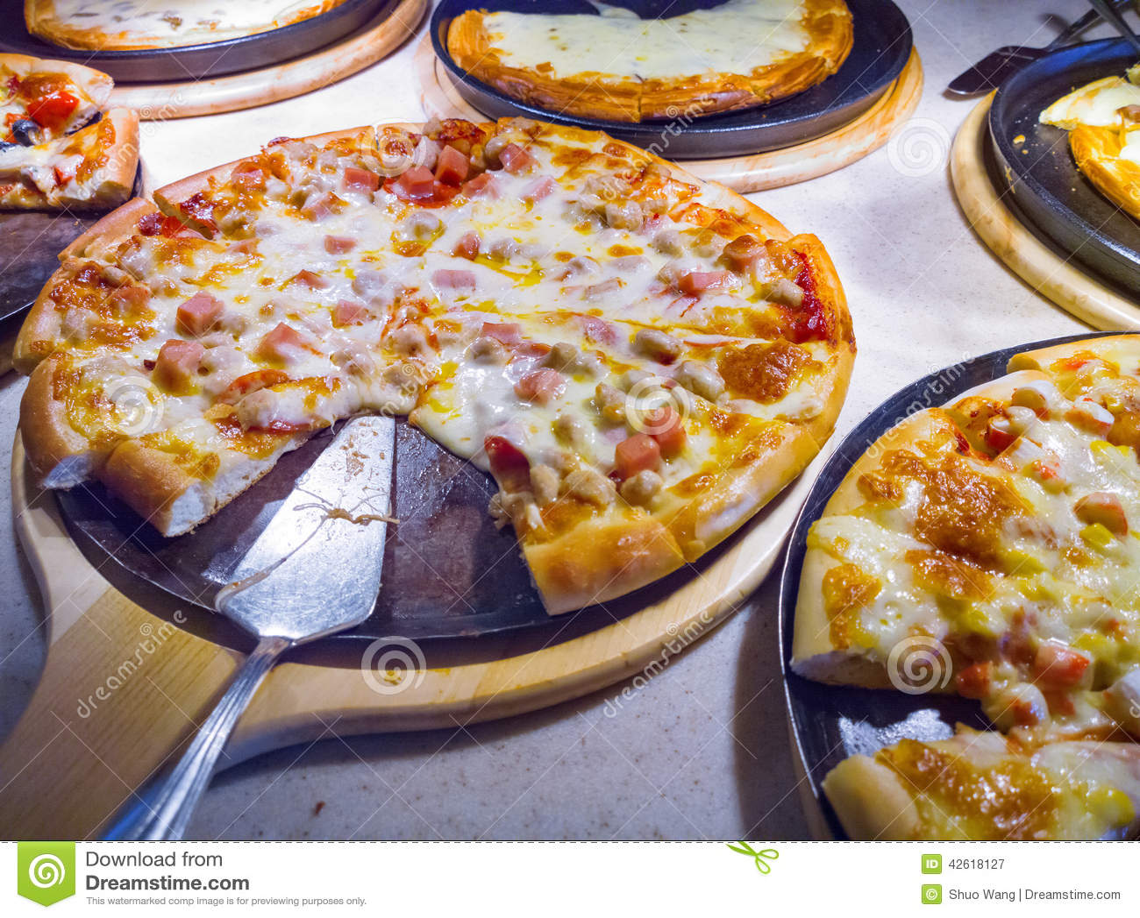Pizza Stock Photo Image 42618127