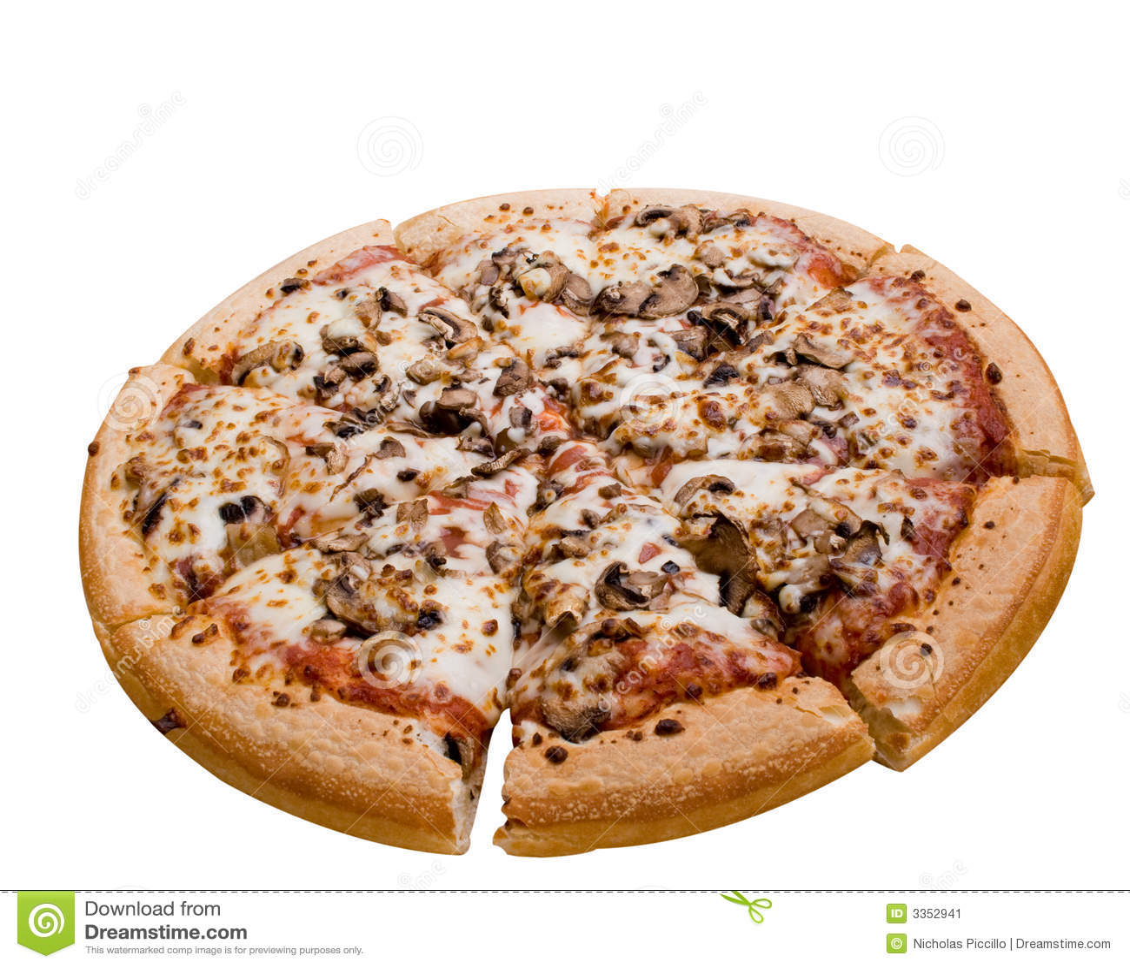 Pizza do cogumelo