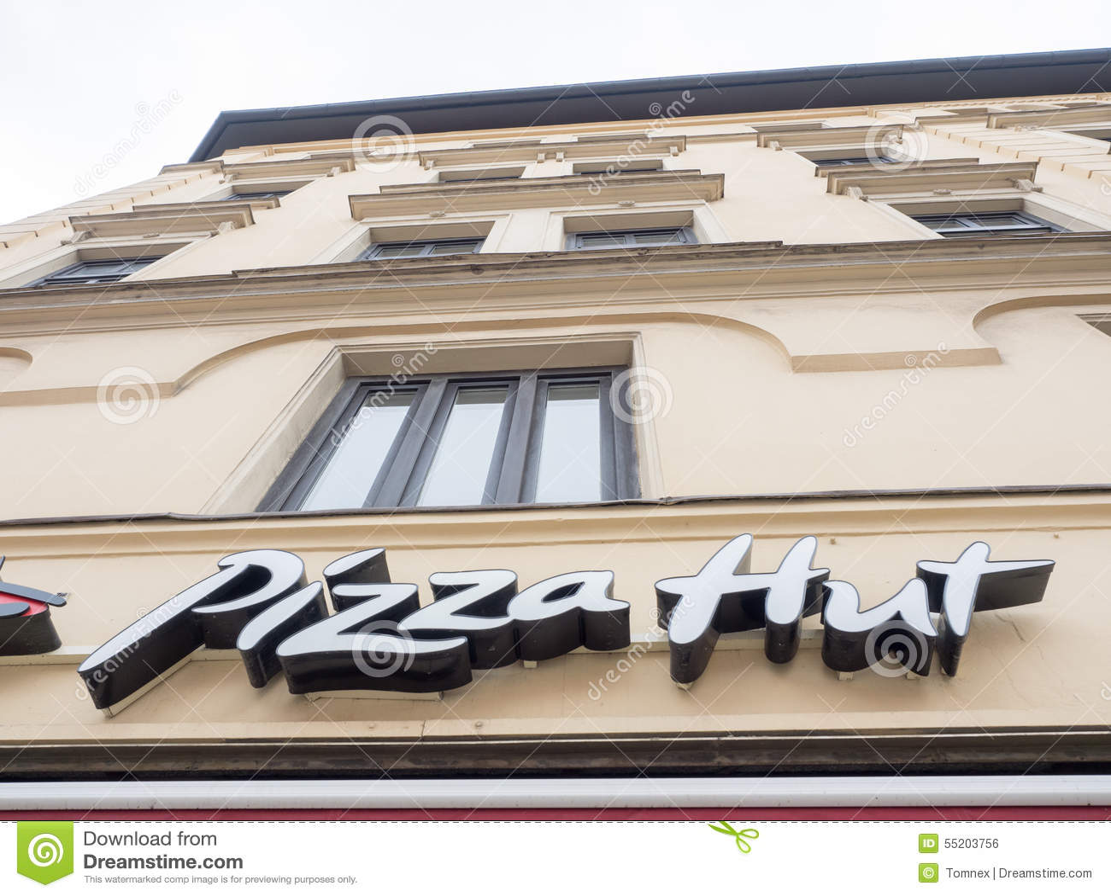 Pizza hut foto editorial imagem 55203756 - Restaurante pizza hut ...