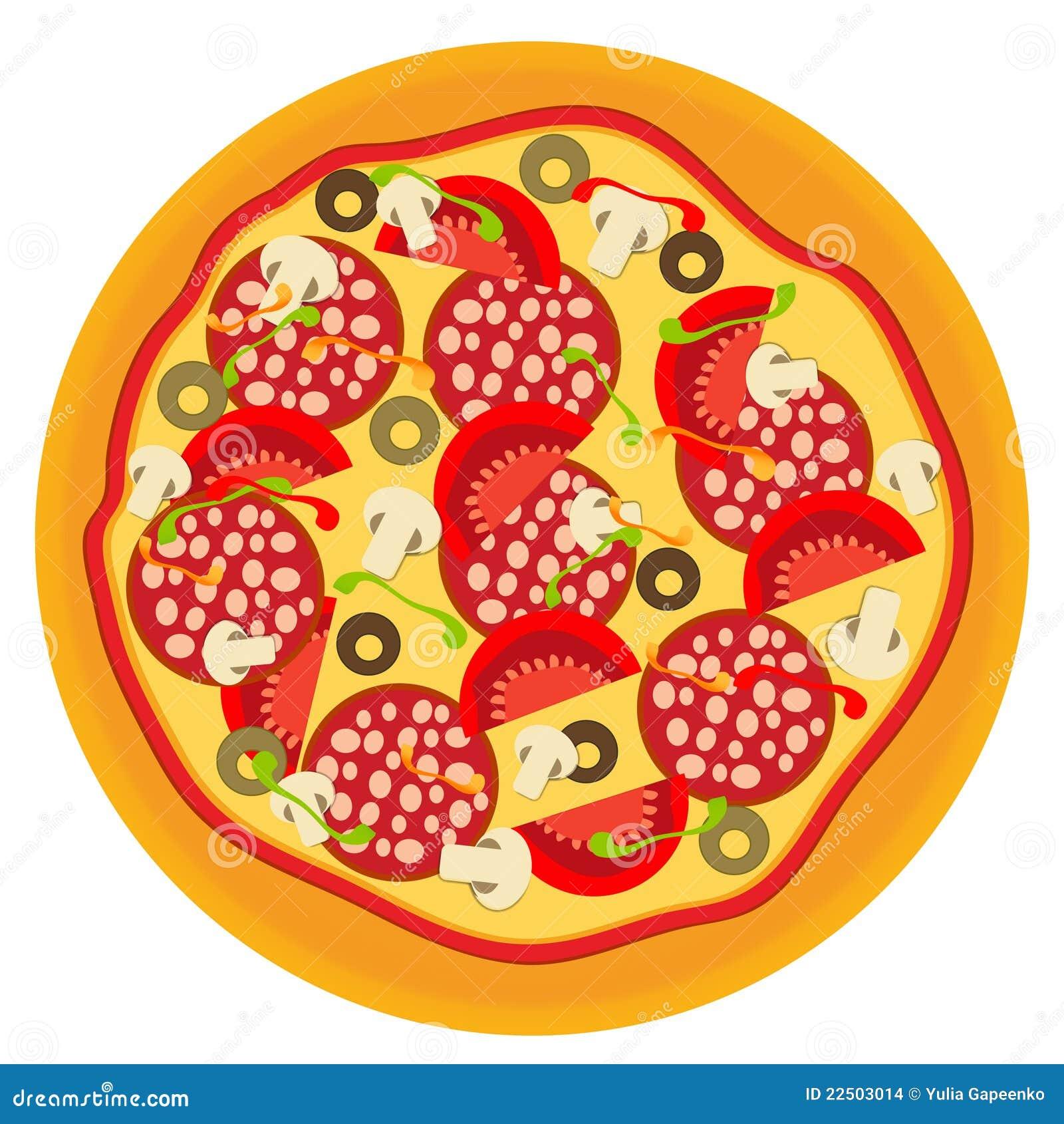 Pizza Illustration Stock Images Image 22503014
