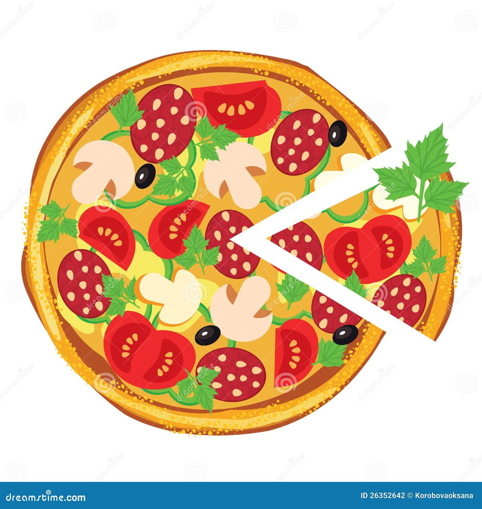 Pizza Illustration Stock Photography Image 26352642