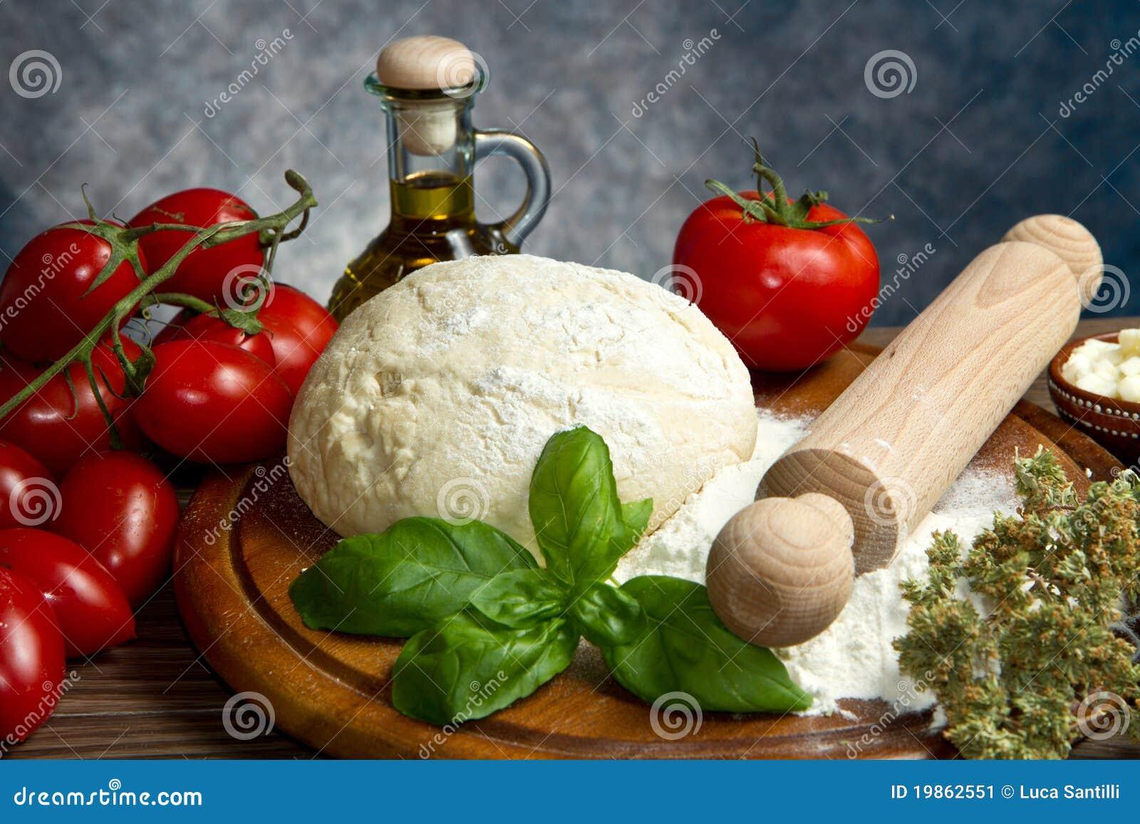 Pizza Ingredients Stock Image - Image: 19862551