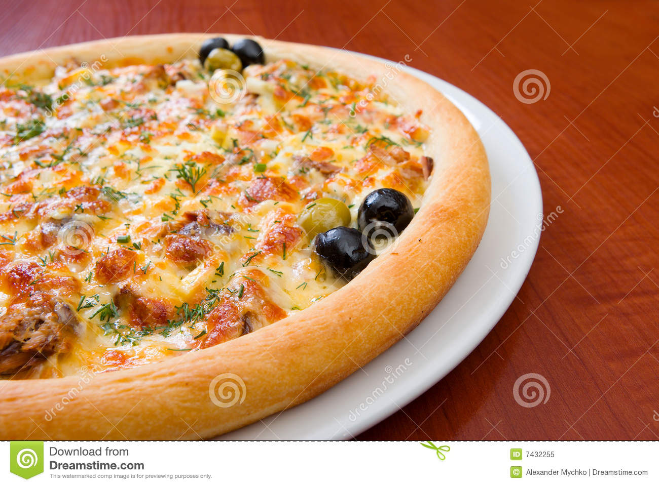 Pizza And Italian Kitchen Stock Image Image Of Crust 7432255