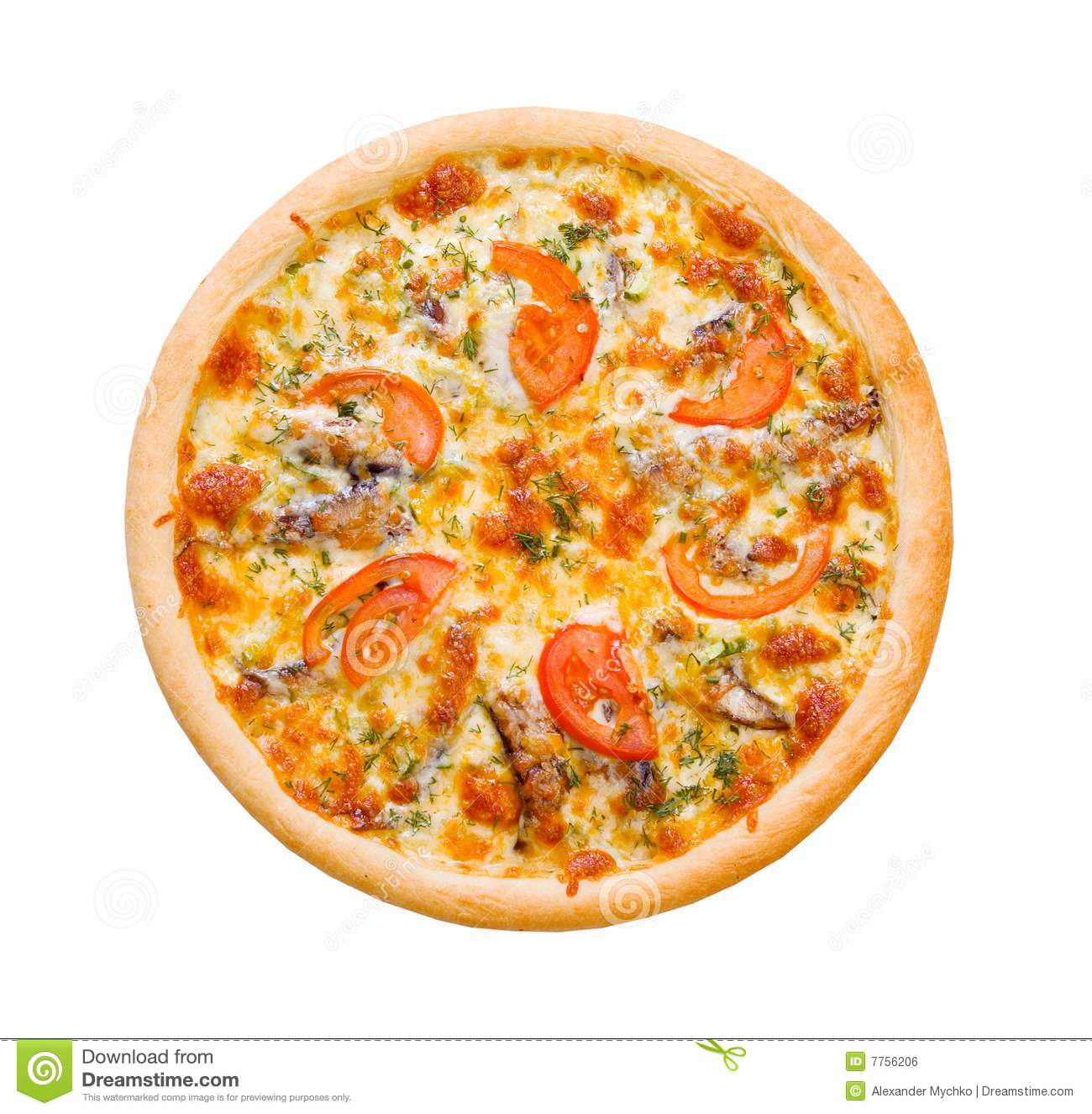 Pizza And Italian Kitchen Stock Photo Image Of Appetizer 7756206