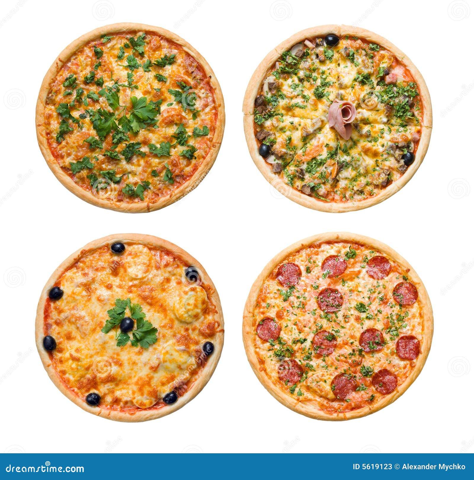 Italian Pizza Kitchen: Pizza And Italian Kitchen Isolated Stock Image