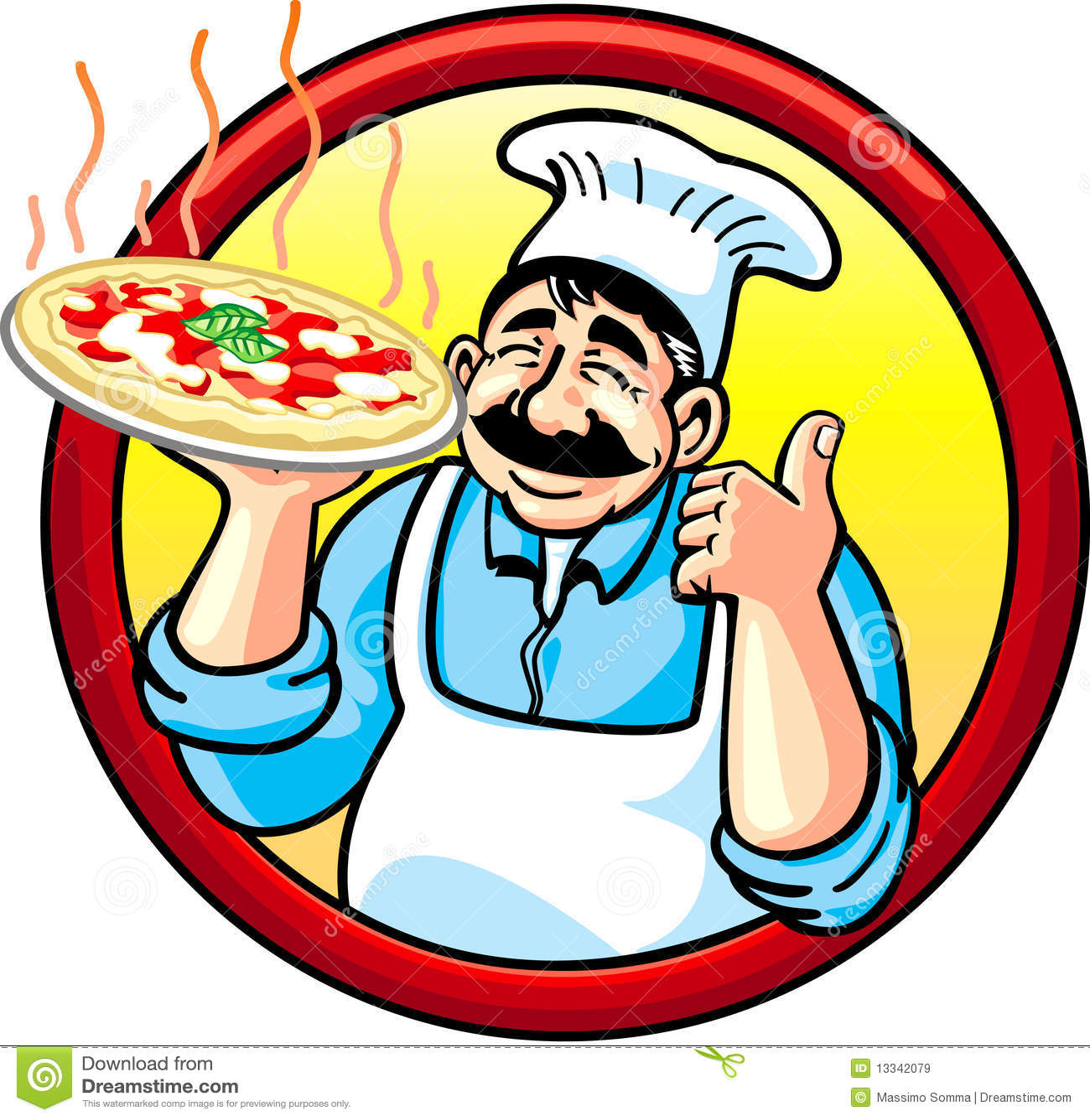 free clipart pizza man - photo #32