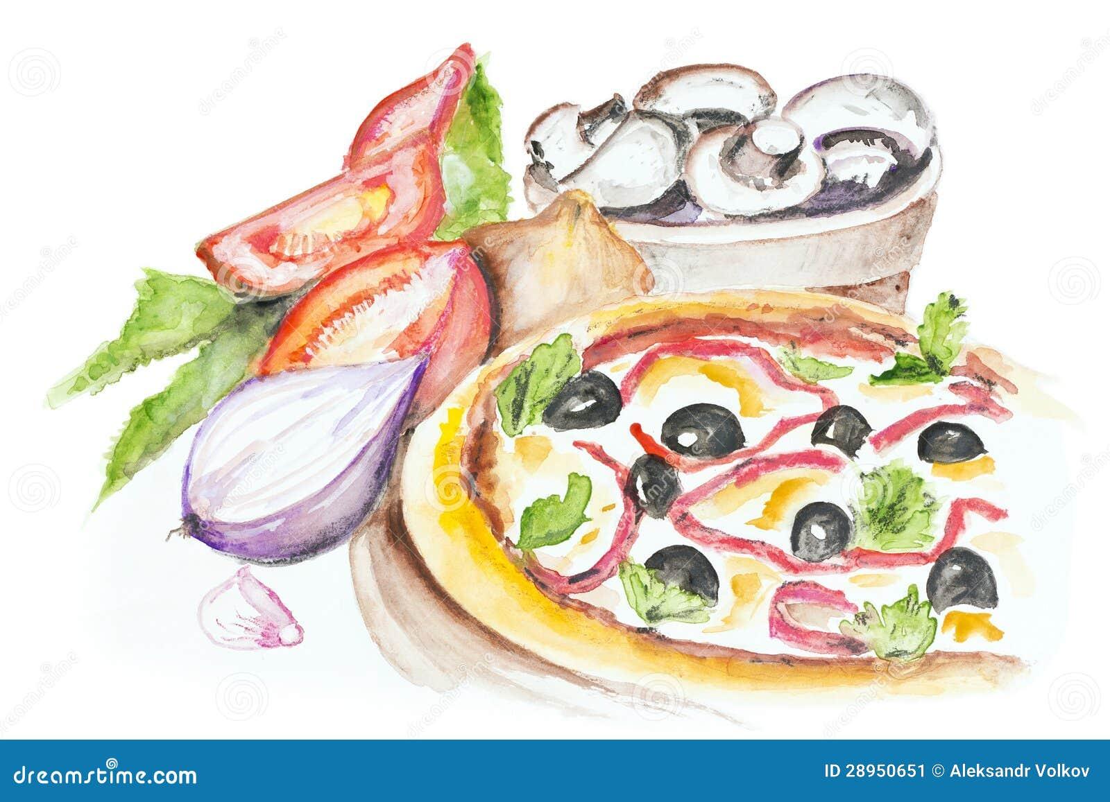 Pizza Margarita odizolowywający
