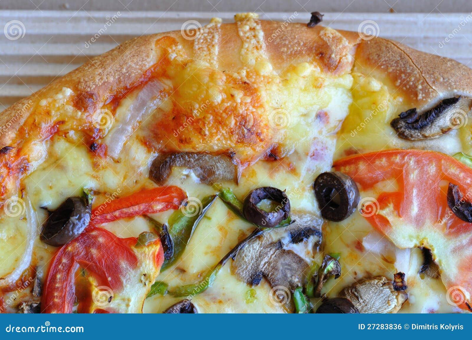 Pizza med grönsaker