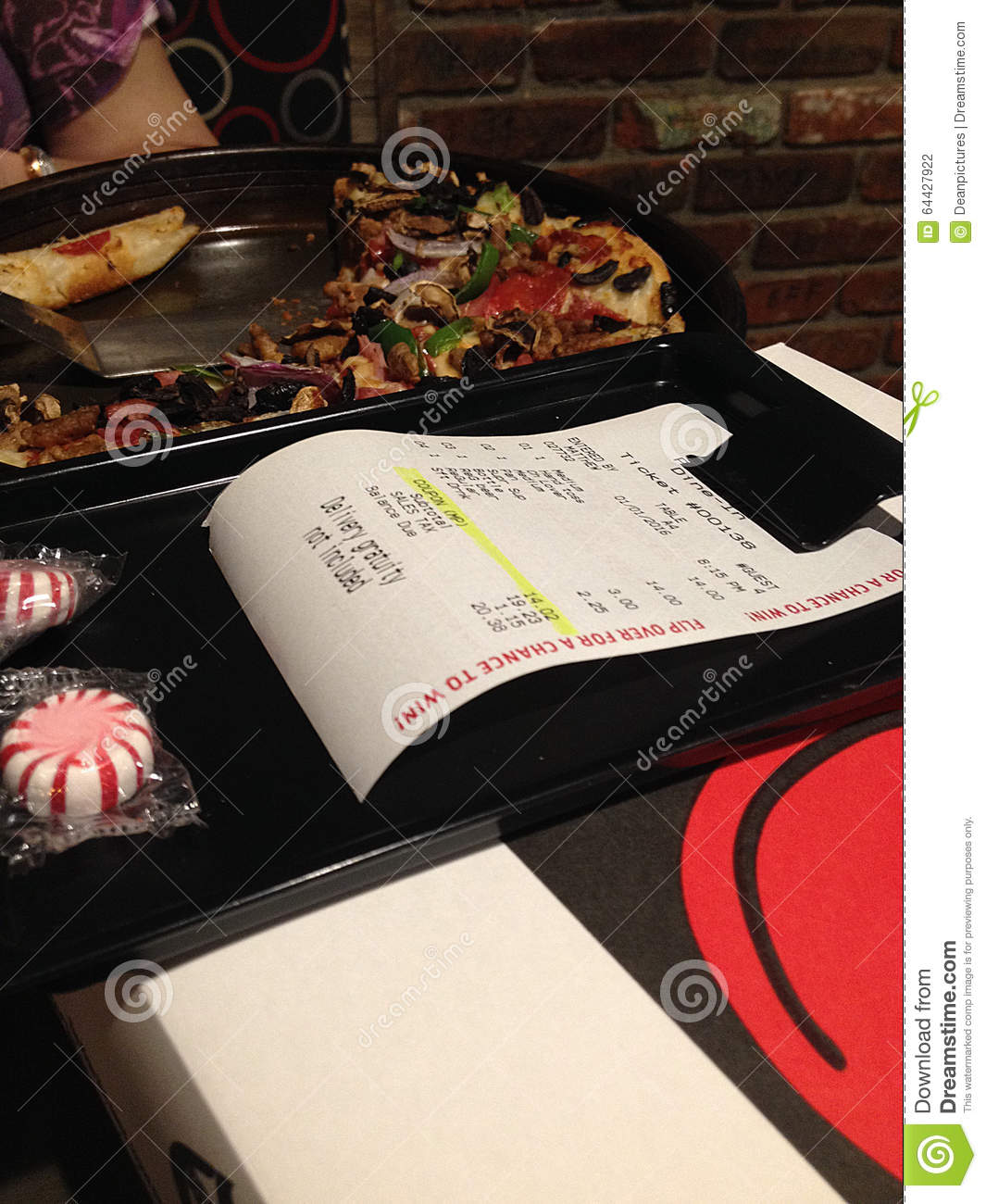PIZZA MENU AT PIZZA HUT editorial photography. Image of mall - 64427922