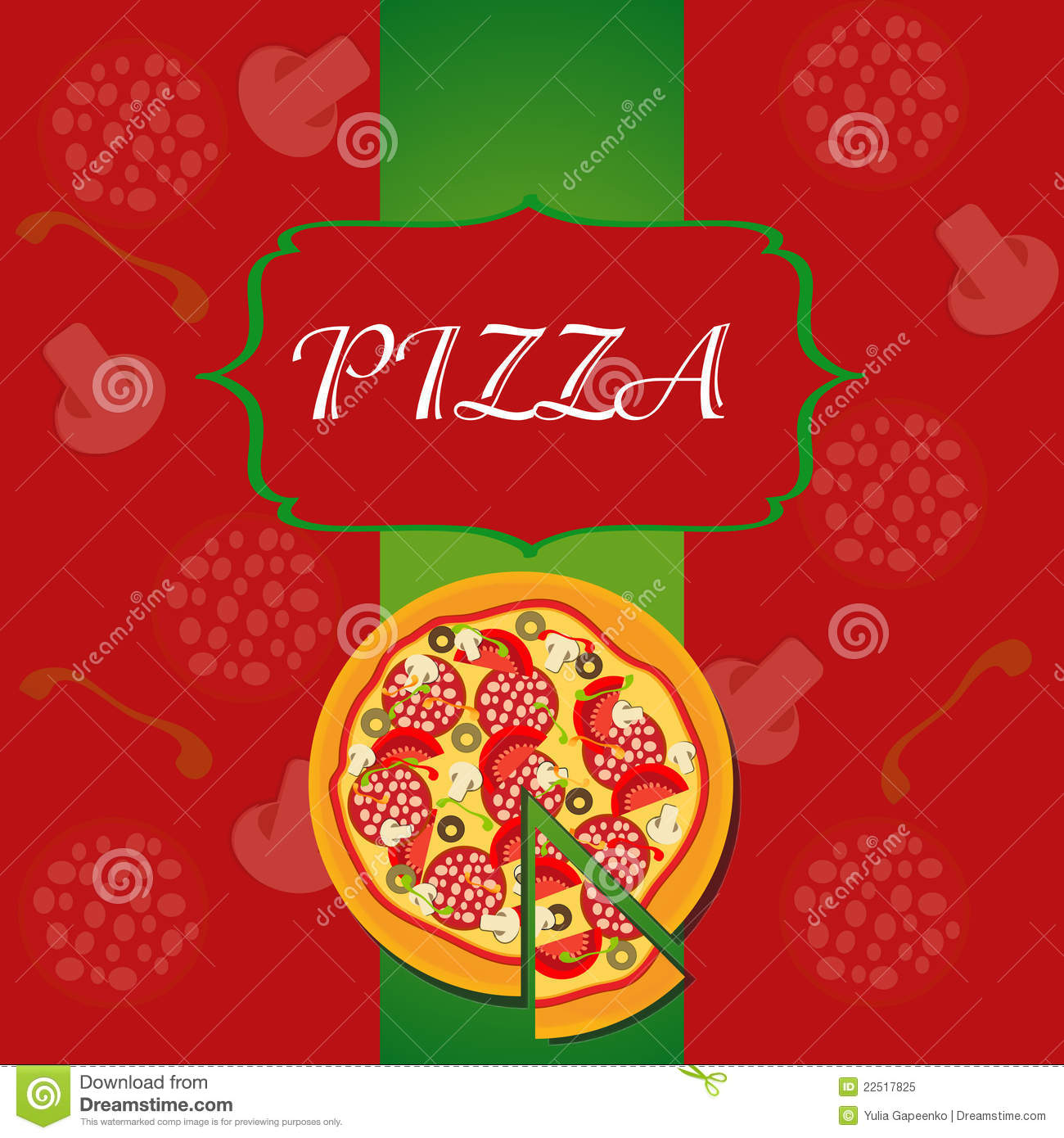 Pizza Menu Template Royalty Free Photo Image 22517825 – Sample Pizza Menu Template