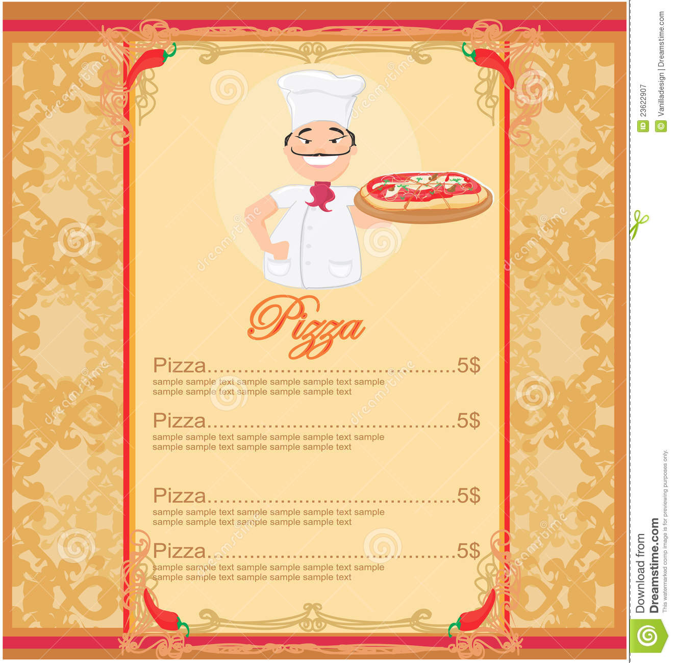 Menu powerpoint template image collections templates example pizza powerpoint template gallery templates example free download special chef menu template cafe attendant sample resume alramifo Gallery