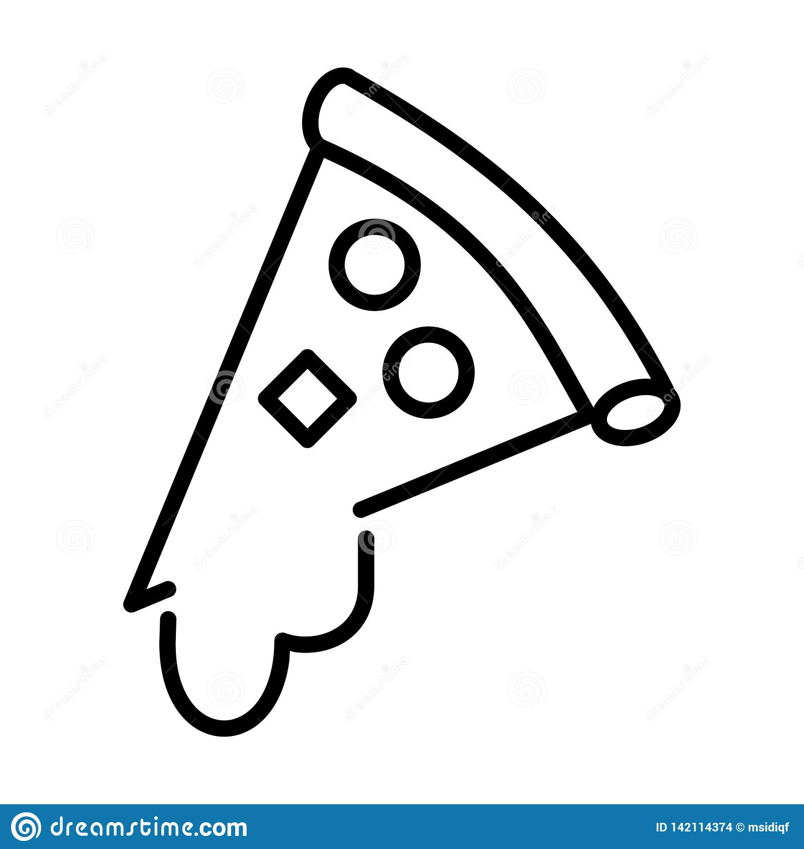 Pizza Outline - msidiqf