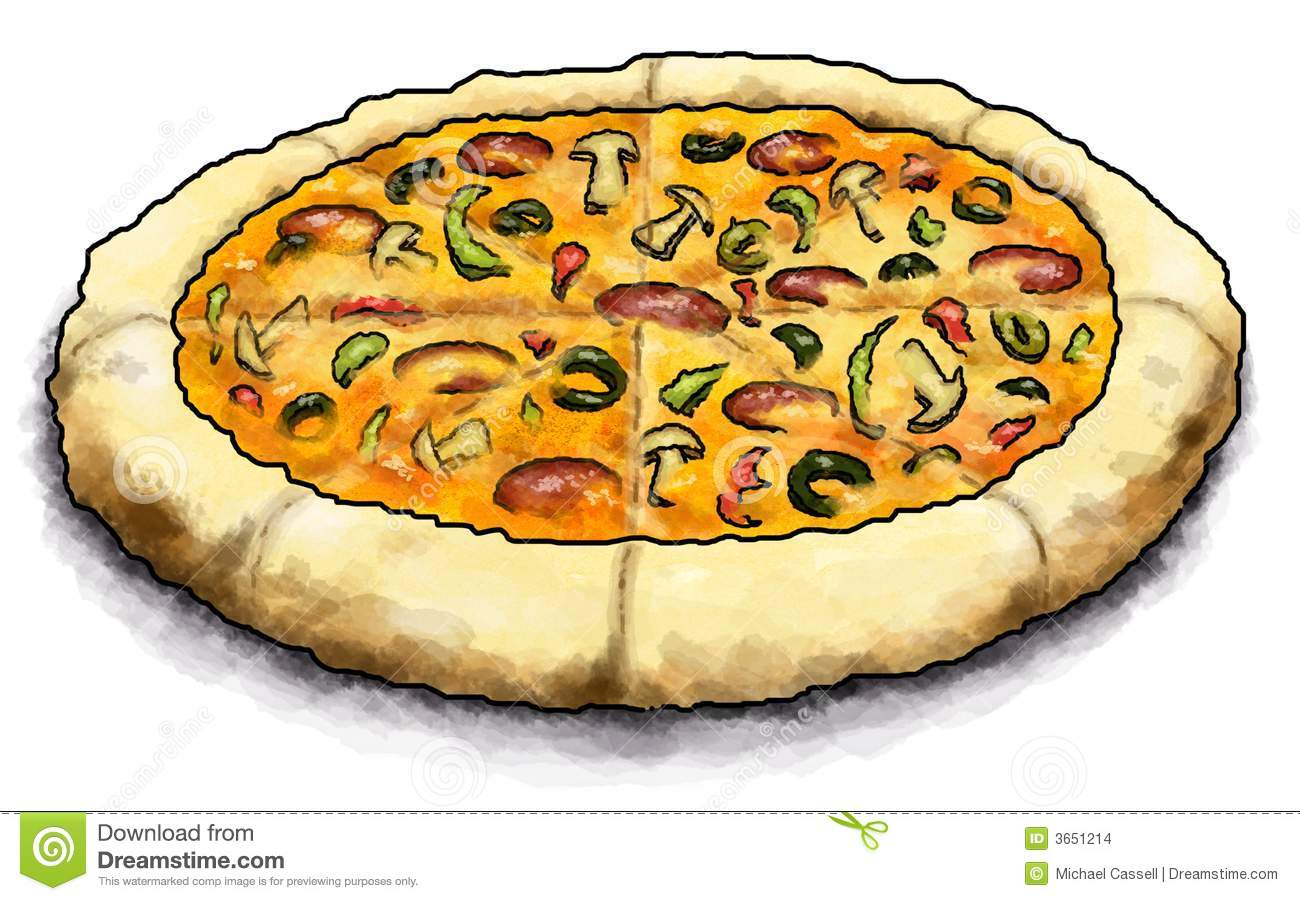 Pizza Pie Stock Images Image 3651214