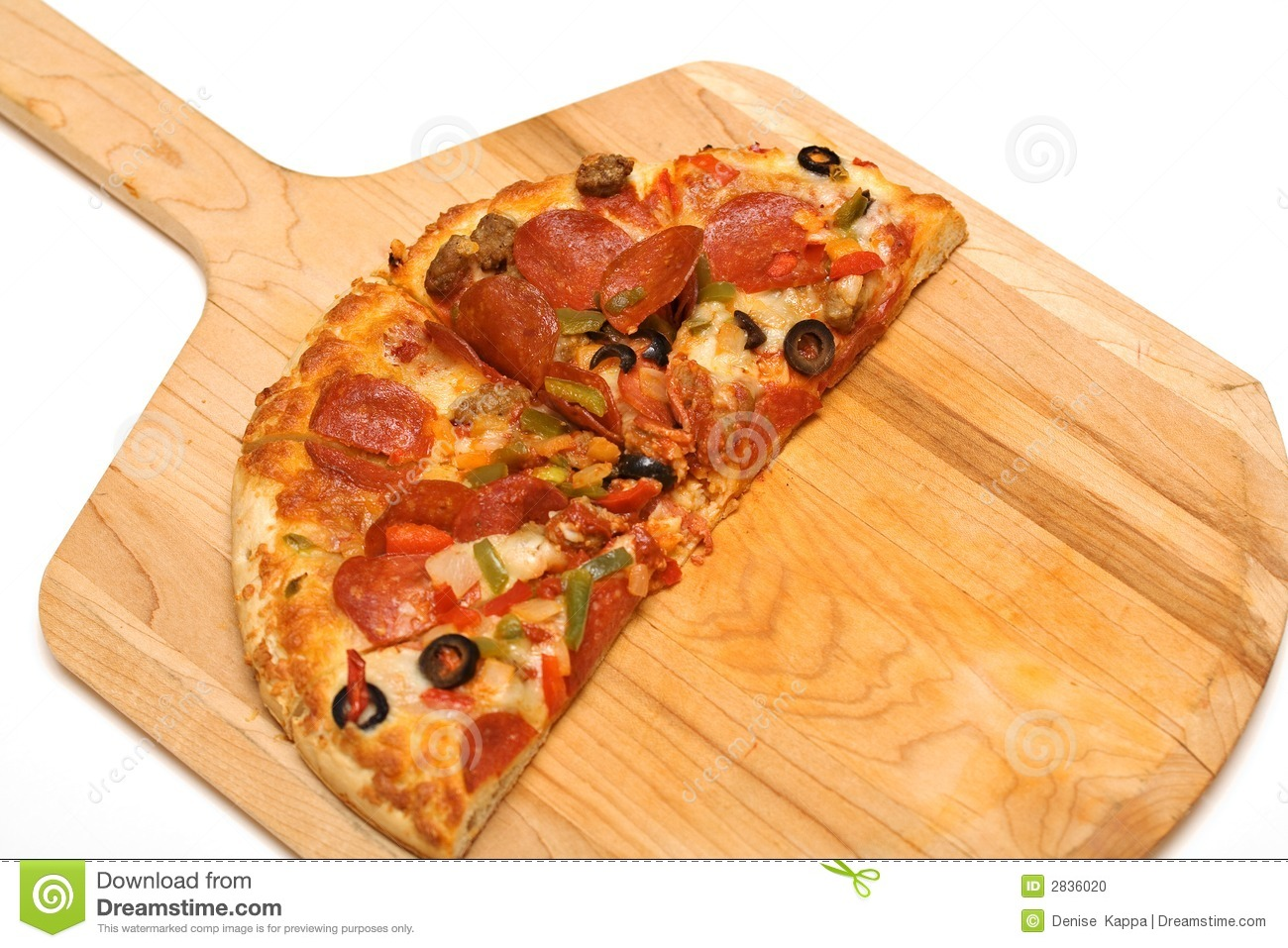 Pizza Pizza Stock Photo Image Of Junk Olives Cutting