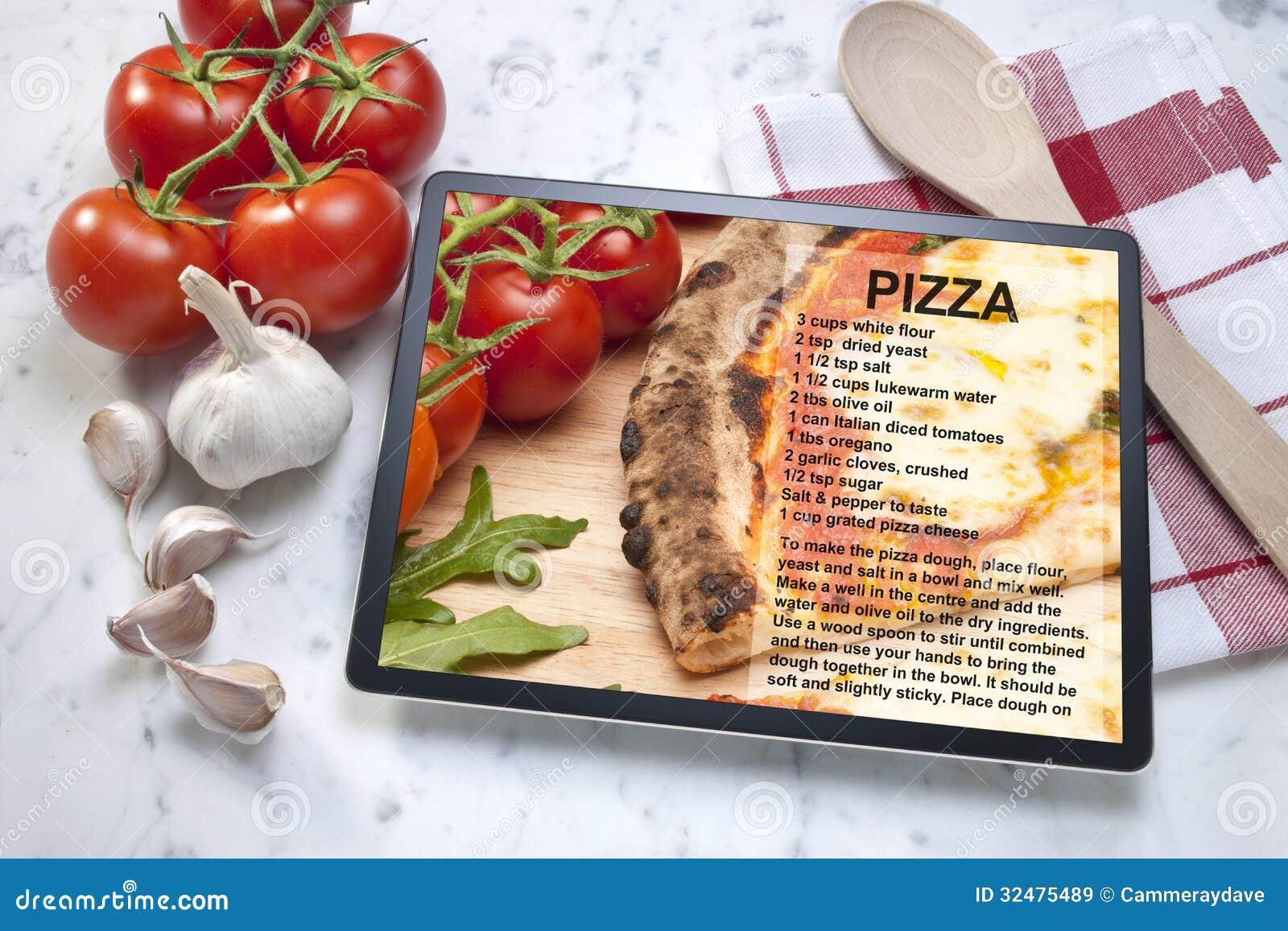 Pizza przepisu pastylka