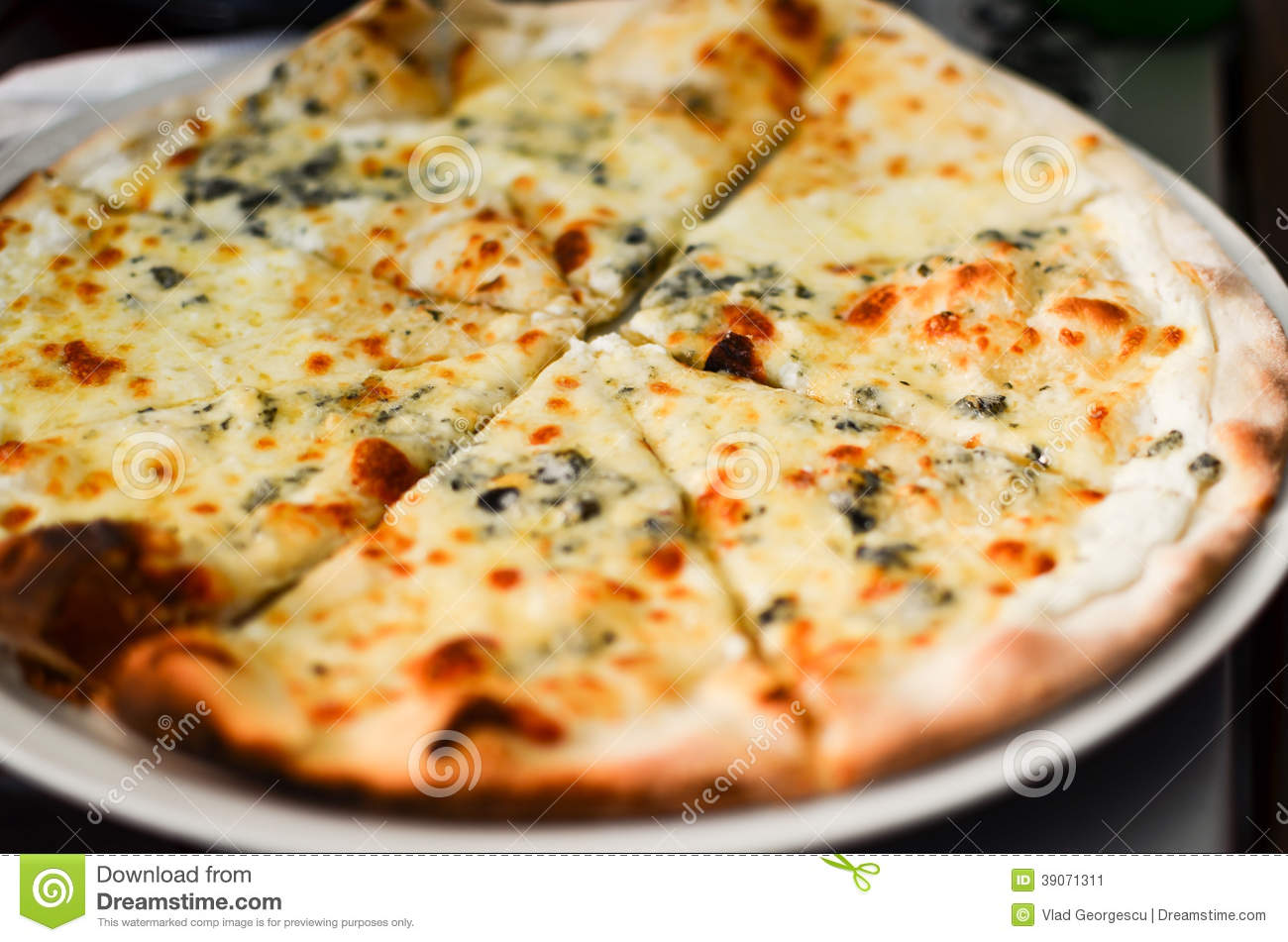 pizza quattro formaggi stock image image of ingredient. Black Bedroom Furniture Sets. Home Design Ideas