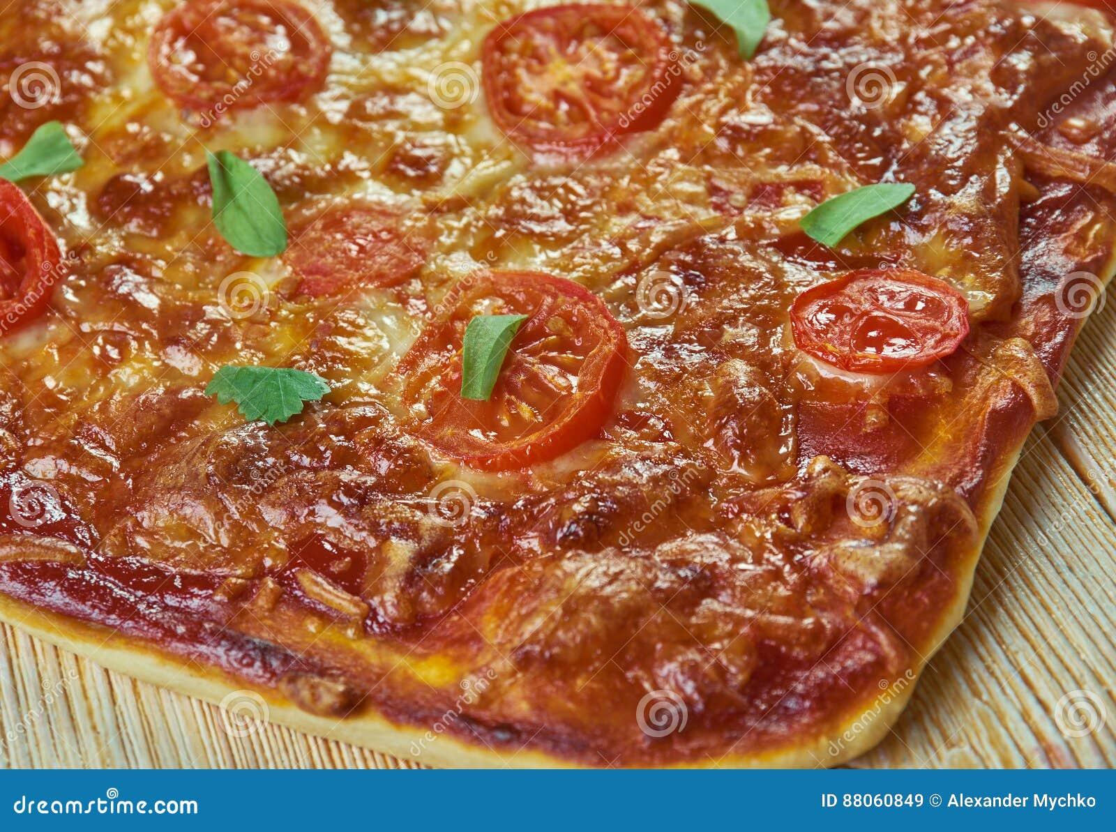 Pizza Romana Stock Image Image Of Plate Italy Symbol