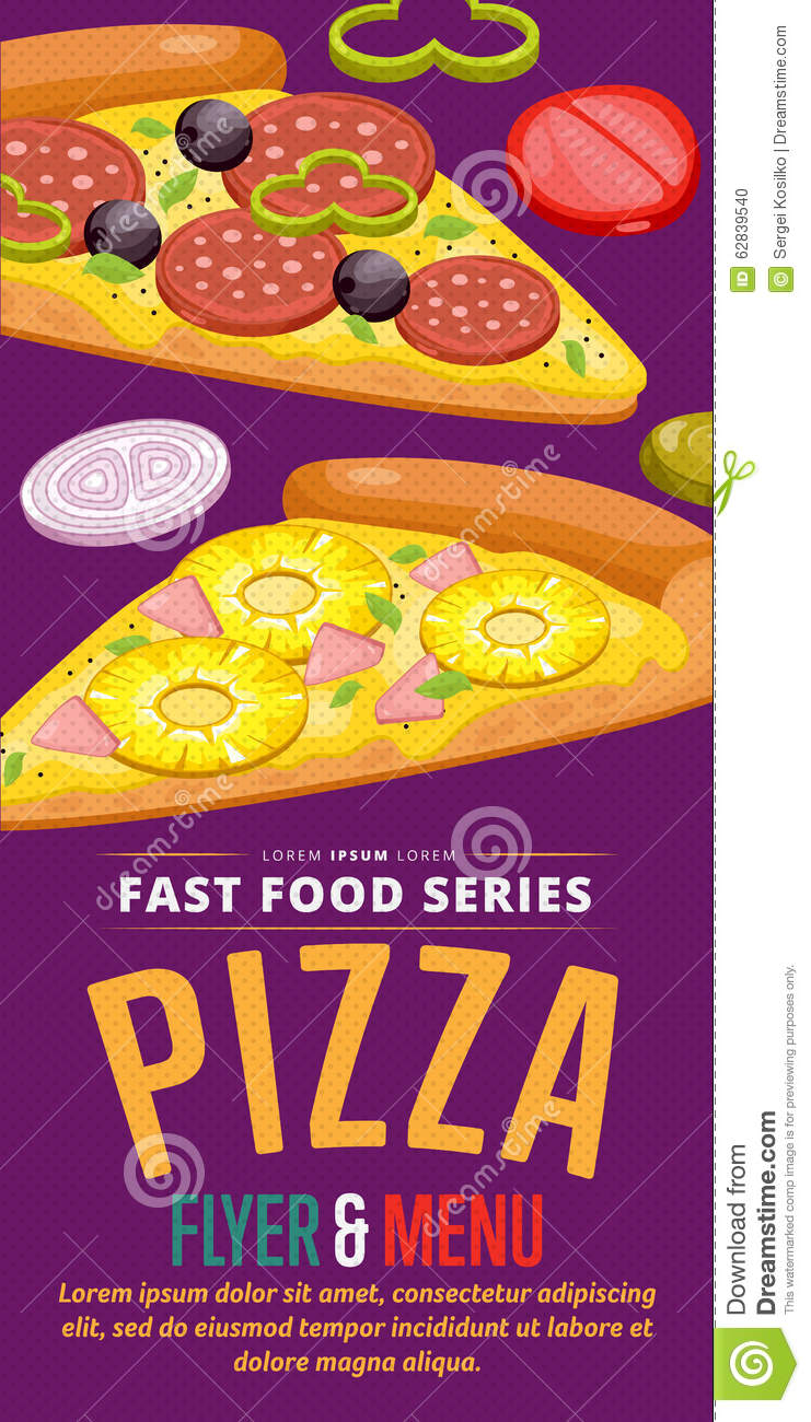 pizza sale flyer stock vector illustration of background 62839540
