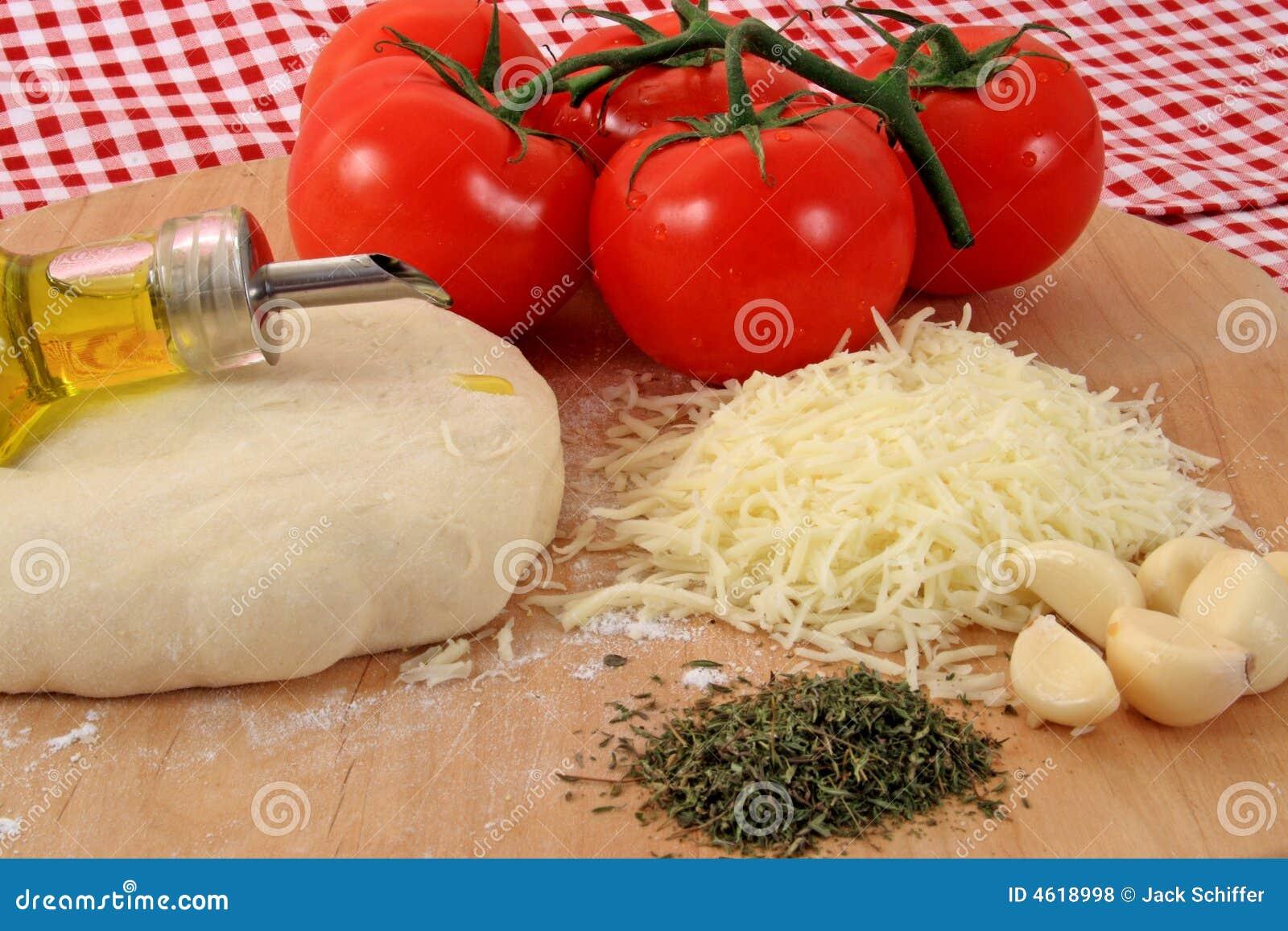 Pizza składnika