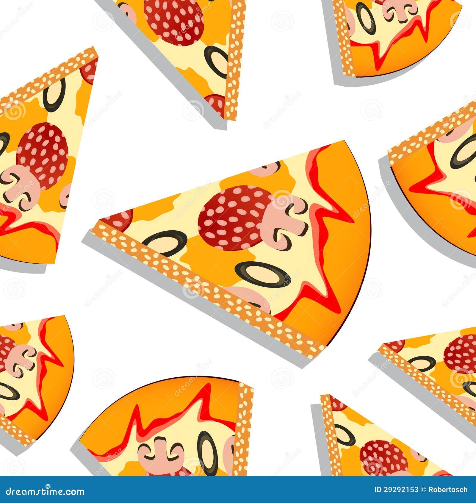 Pizza Slice Pattern Stock Photos - Image: 29292153